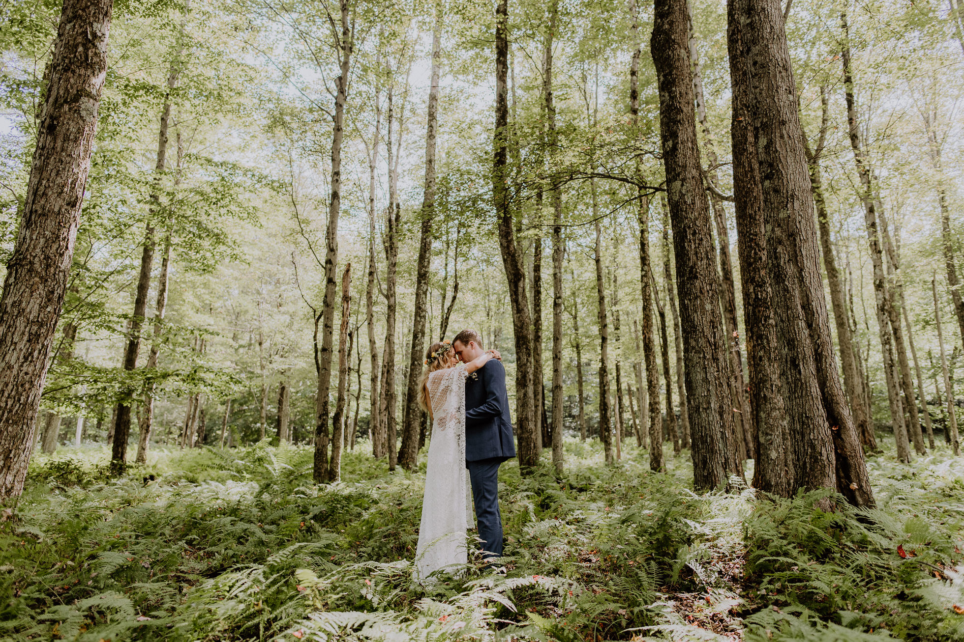 forest wedding photos new york