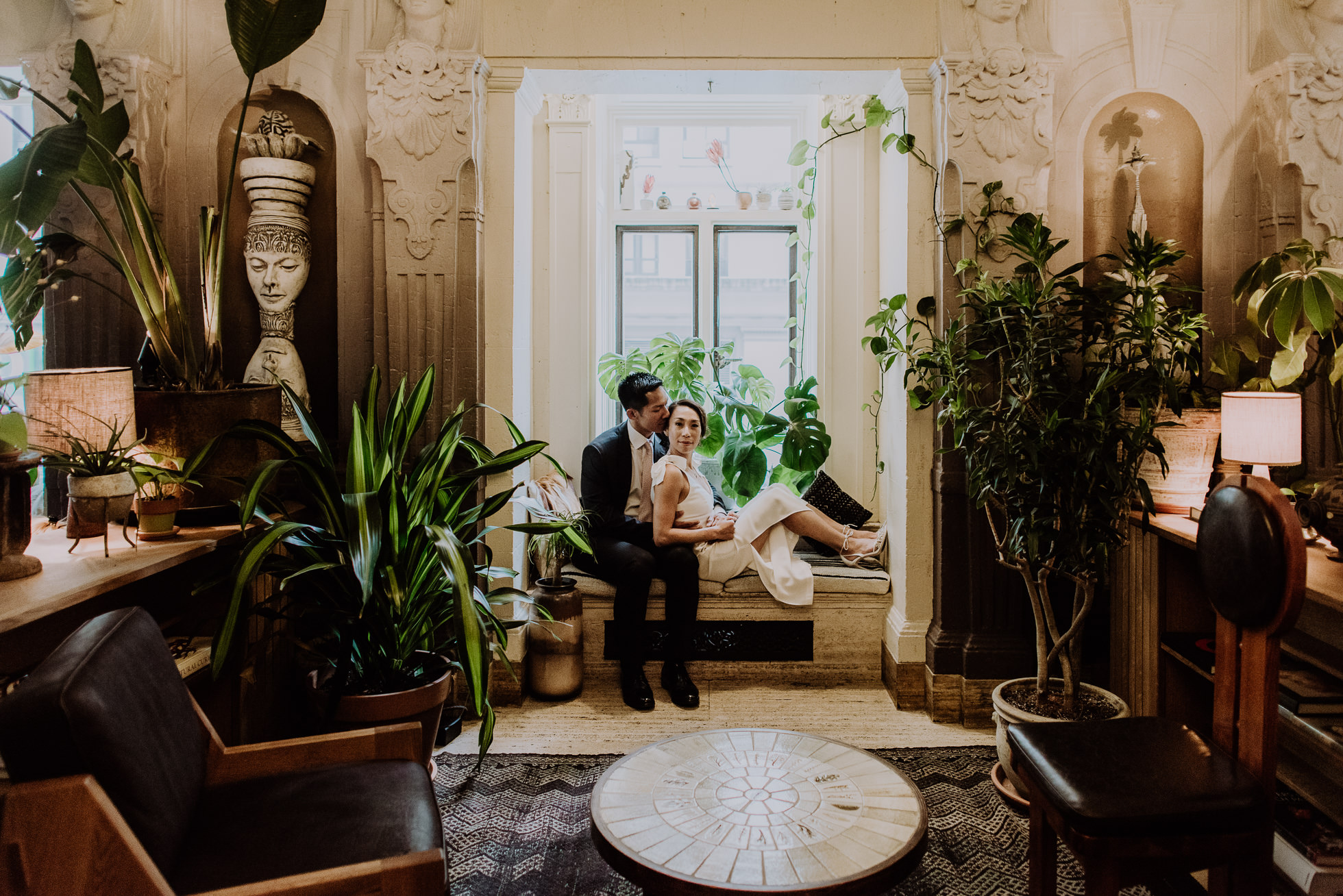 Freehand Hotel engagement session