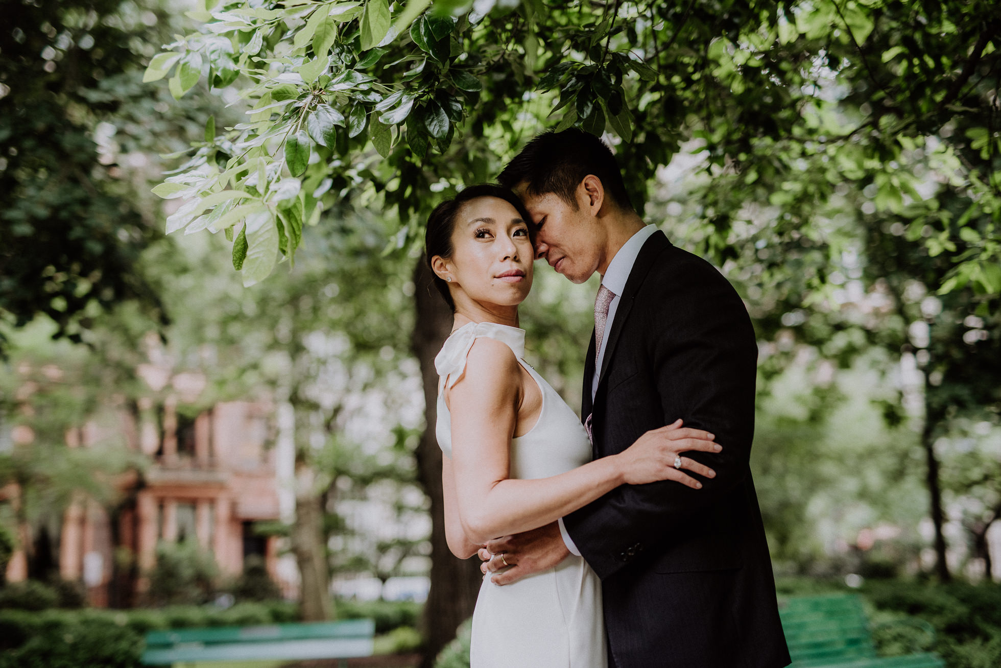 Gramercy Park engagement photos