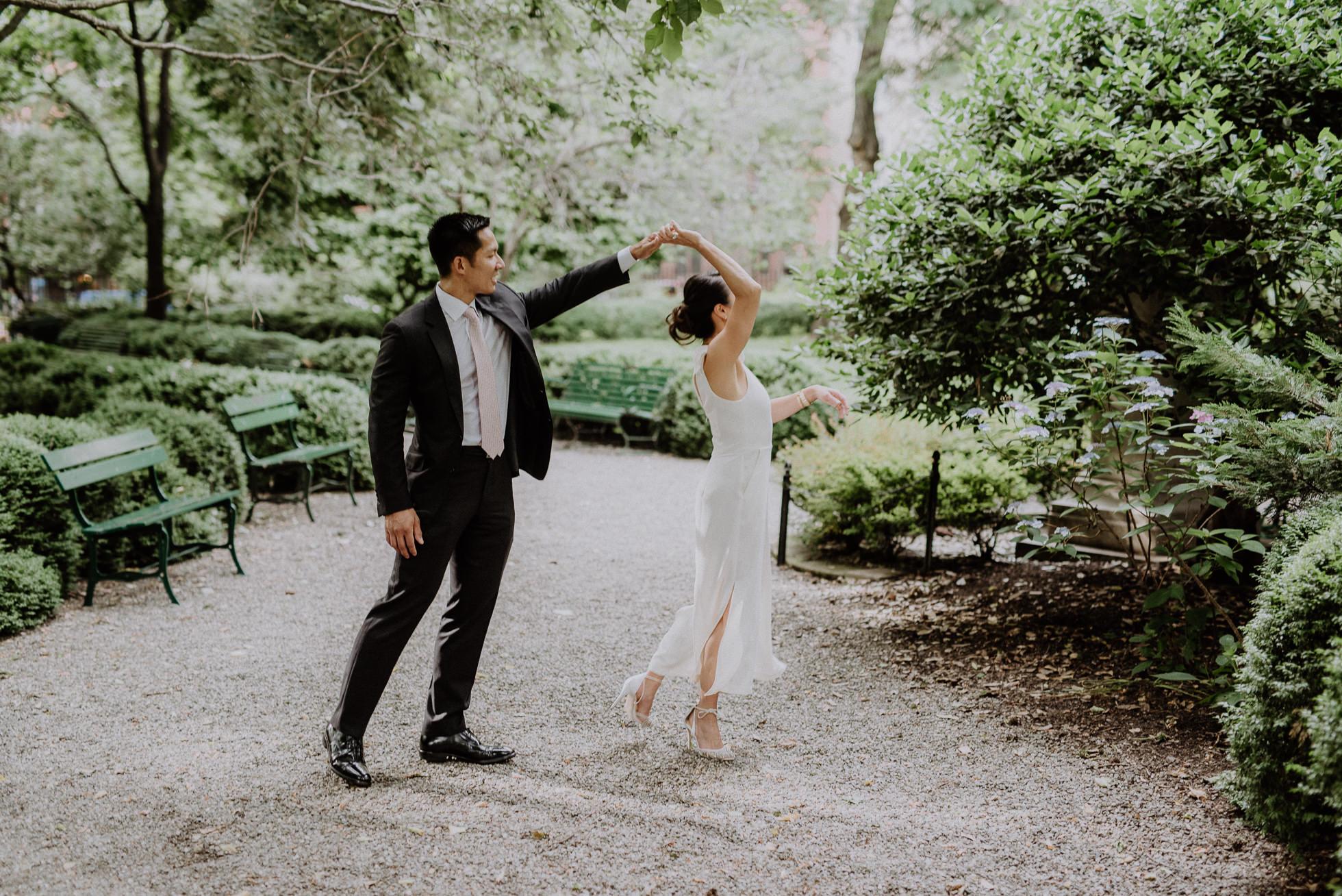 Gramercy Park wedding ceremony
