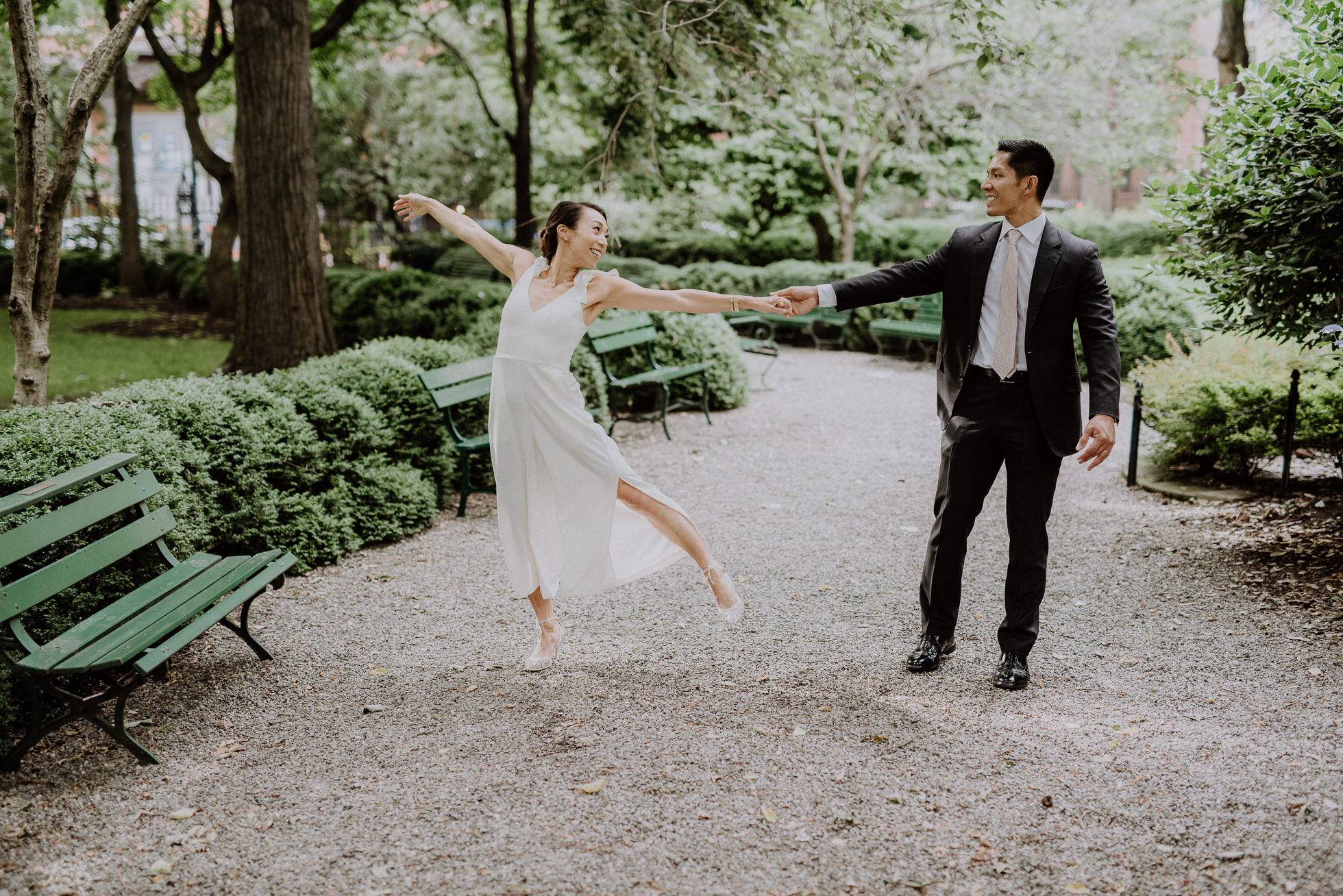 Gramercy Park wedding photos