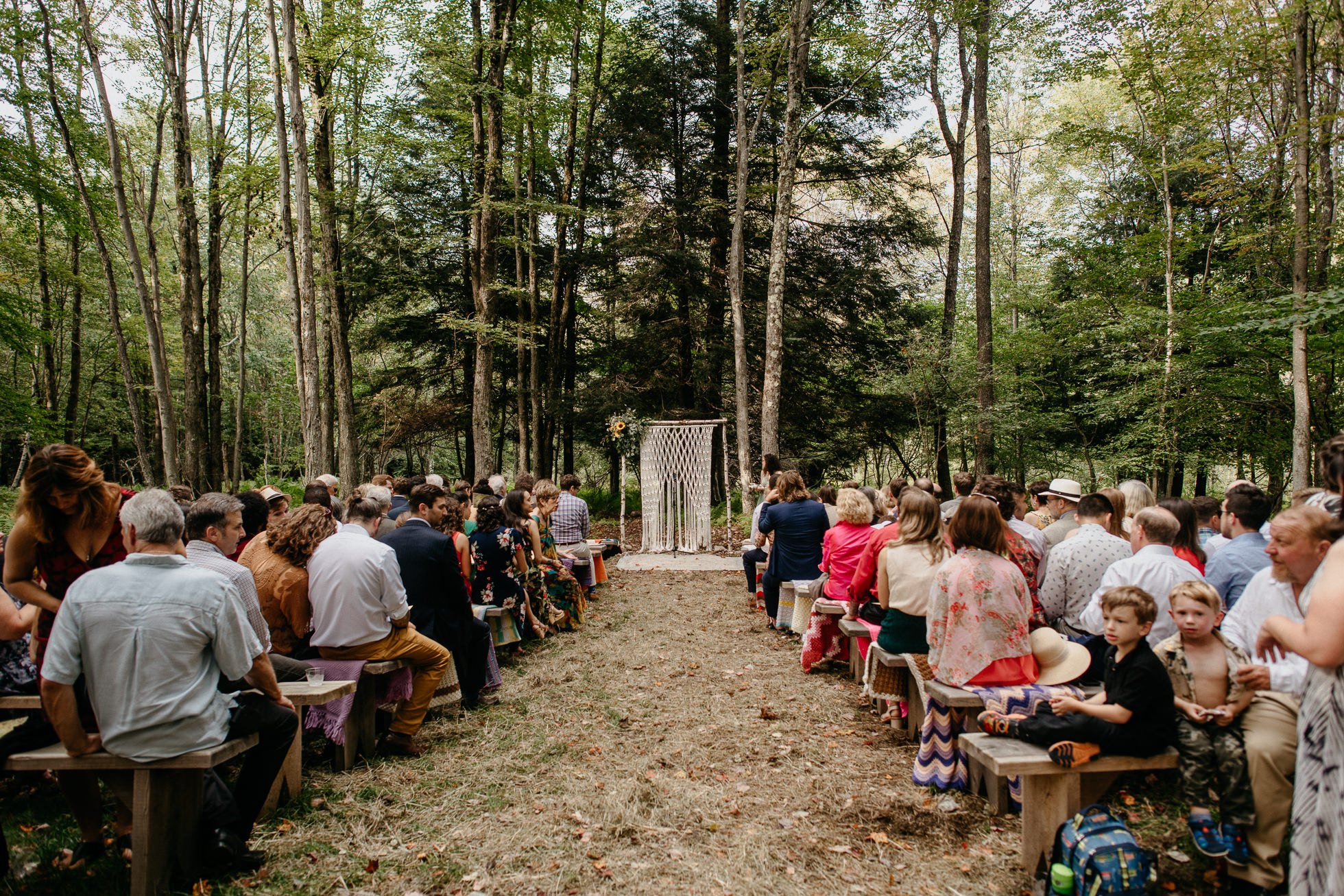 Handsome Hollow wedding ceremony