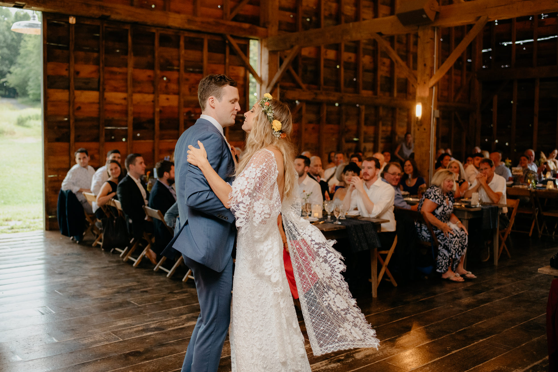 hippie wedding first dance