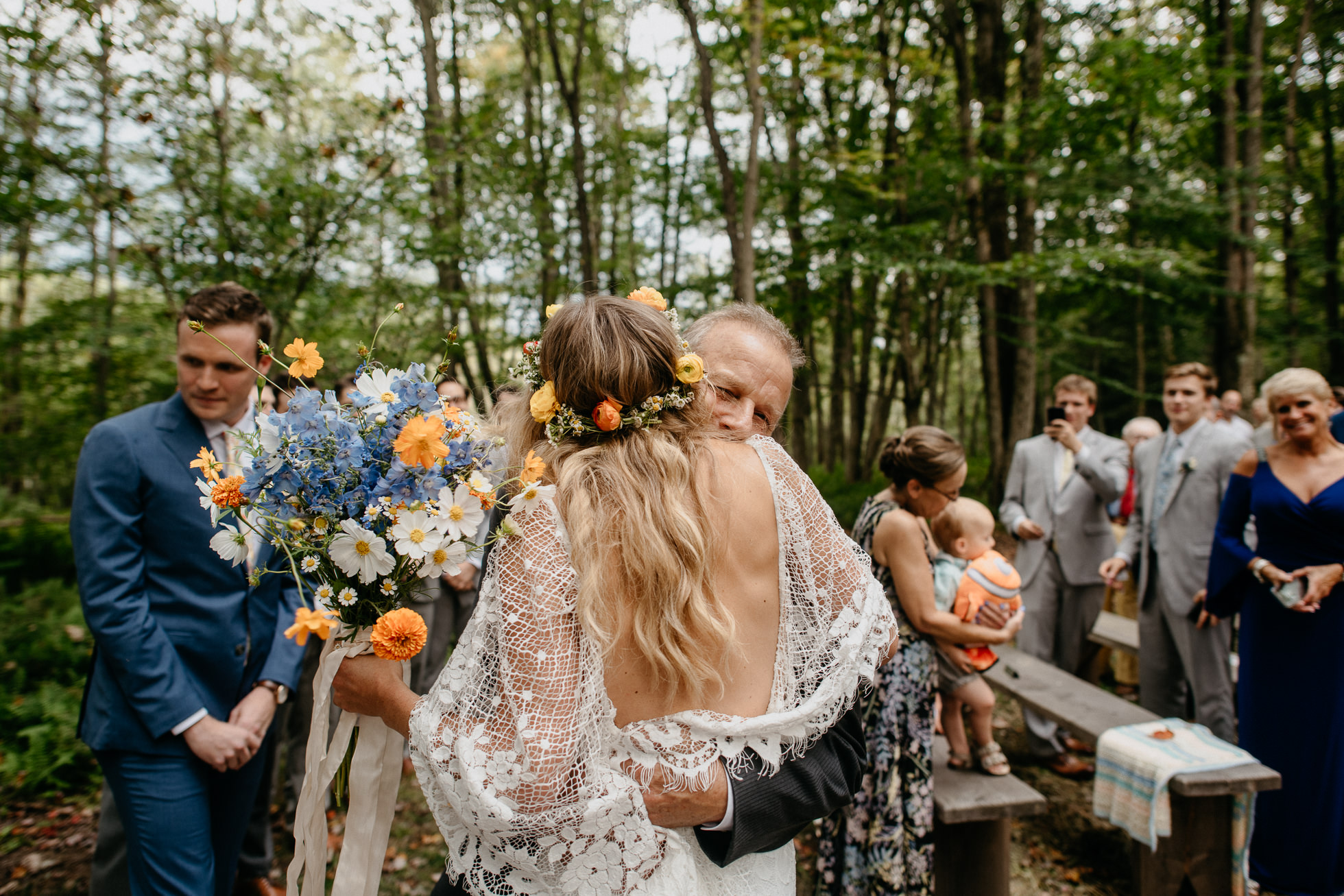 hippie wedding photos