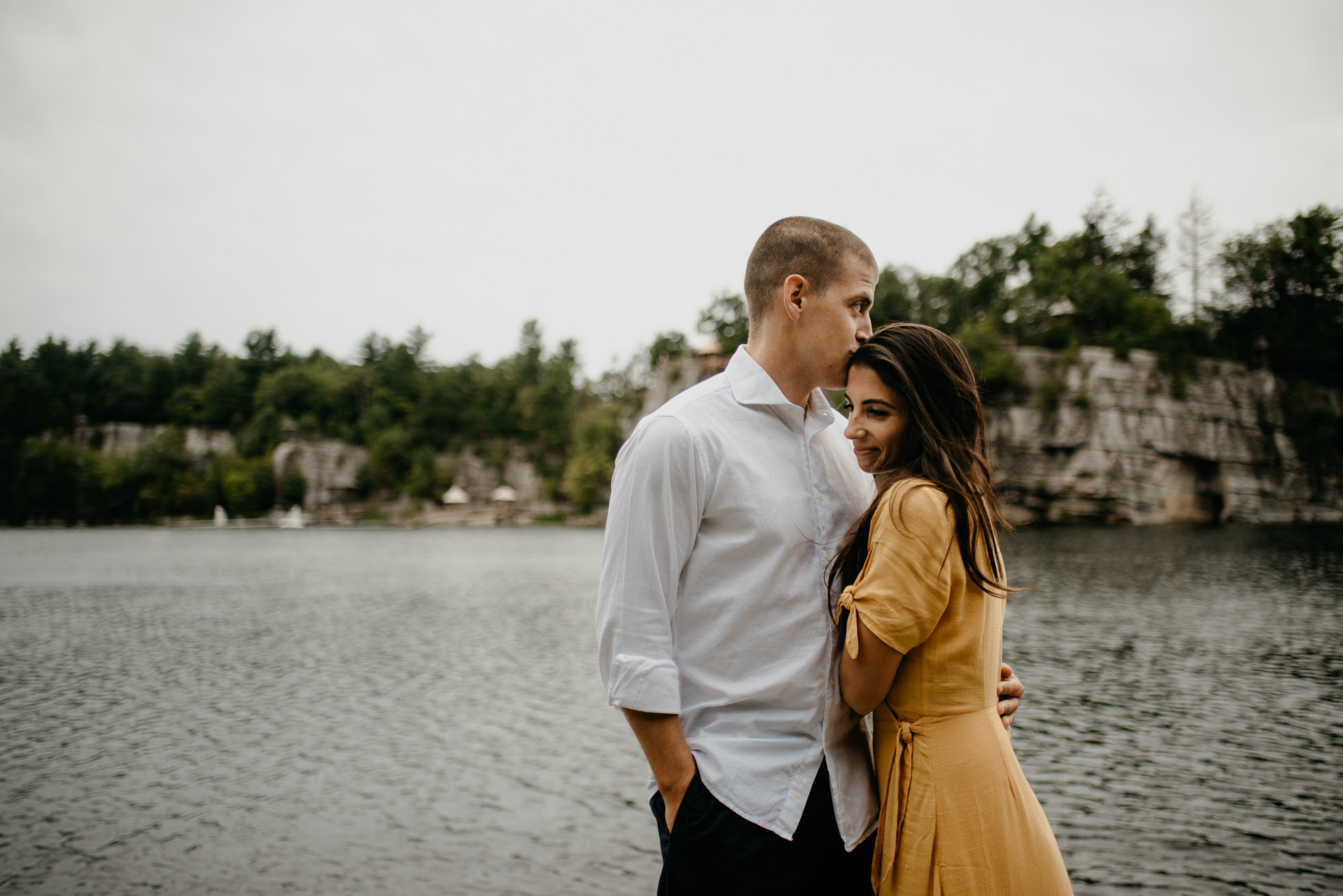 Lake Mohonk engagement photos