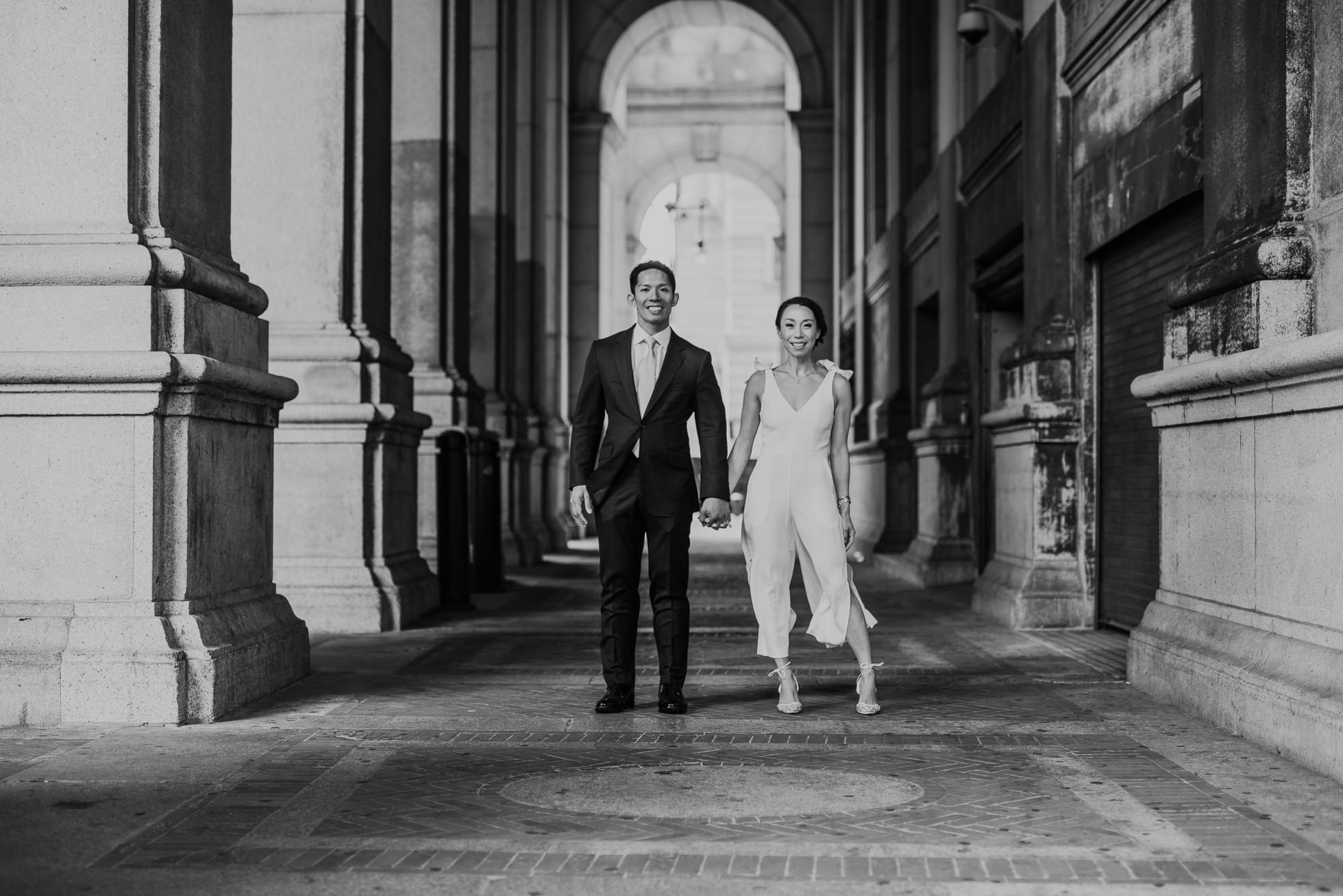 Manhattan city hall wedding photographers
