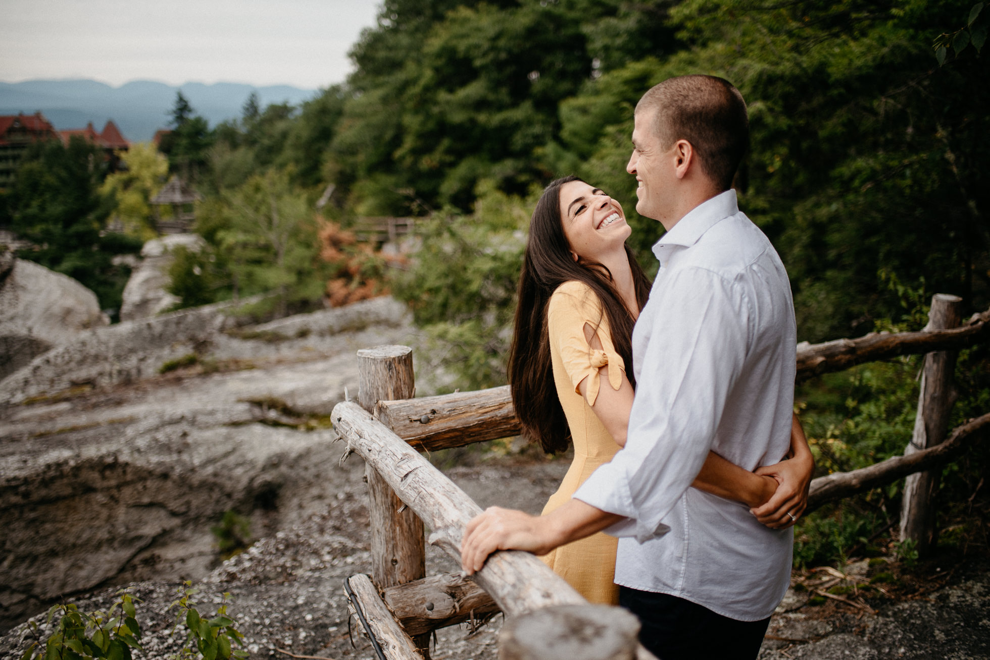 Mohonk Mountain House engagement photographer