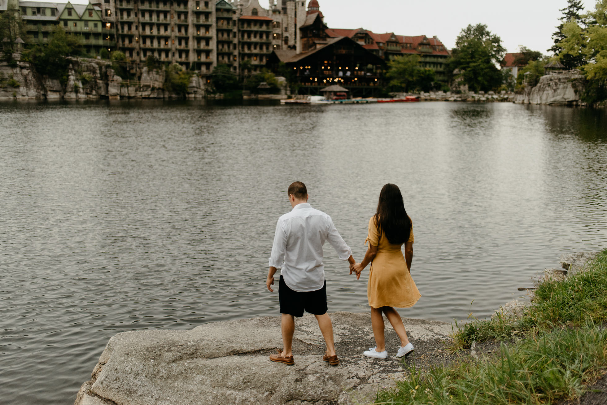 Mohonk Mountain House engagement session