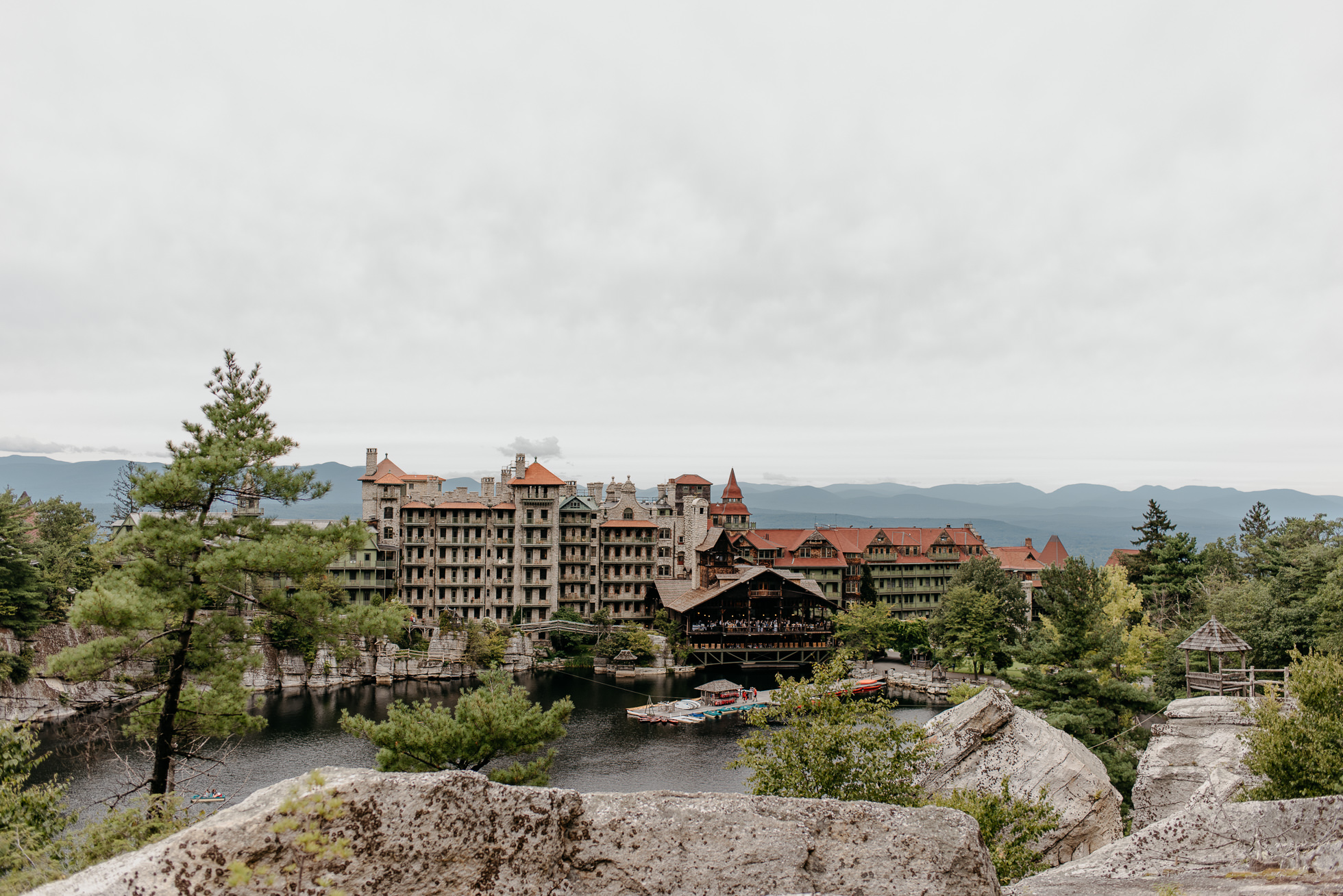 Mohonk Mountain House wedding photography