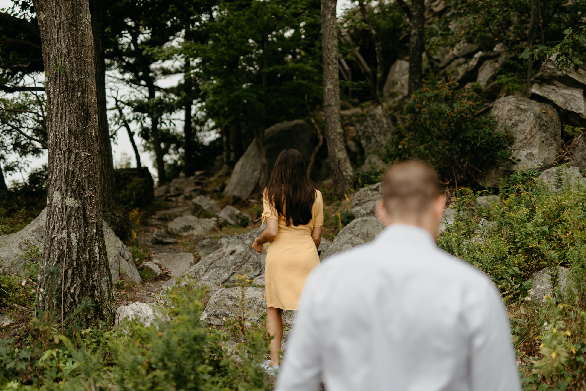 Mohonk Preserve engagement session