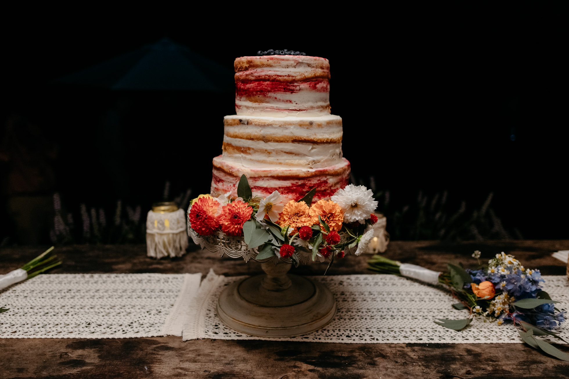 naked wedding cakes new york