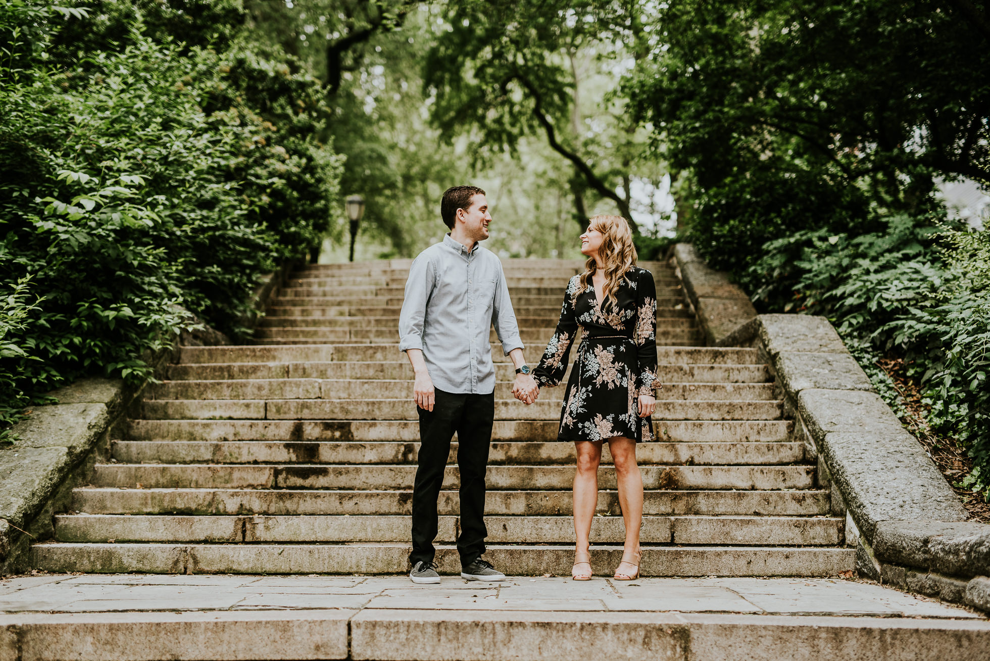New York City engagement photo spots photographed by Traverse the Tides5