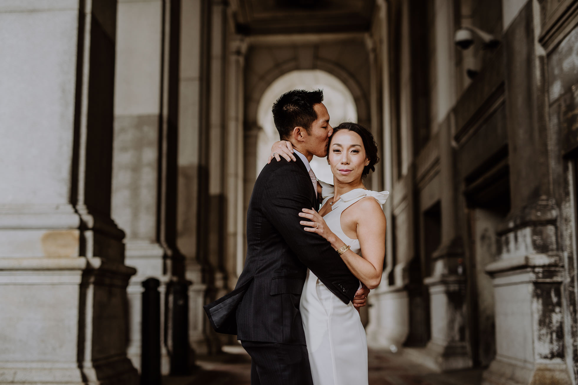 NYC city hall wedding photographers