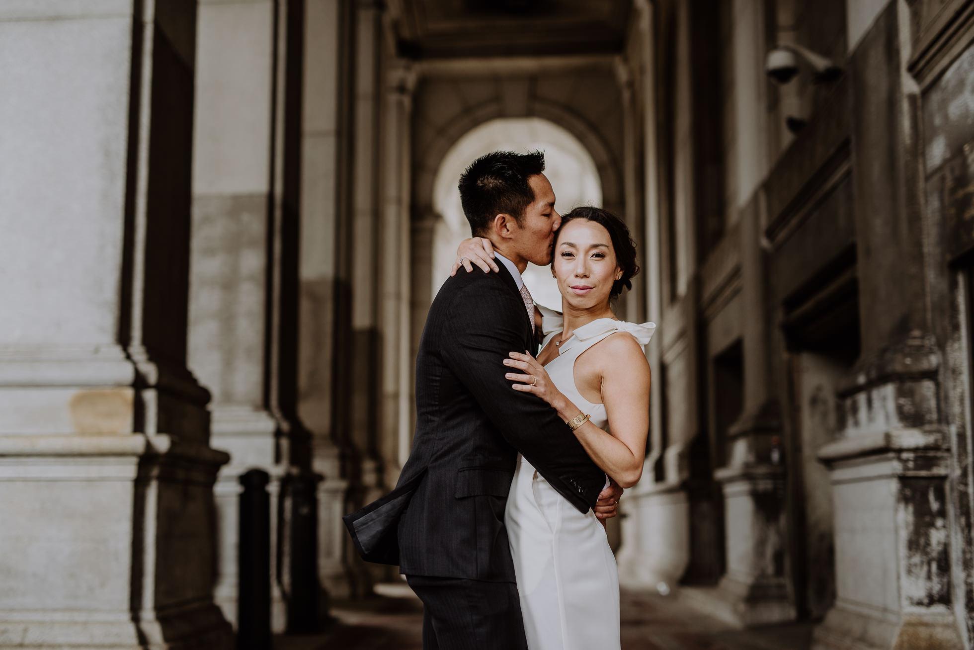 NYC city hall wedding photographers
