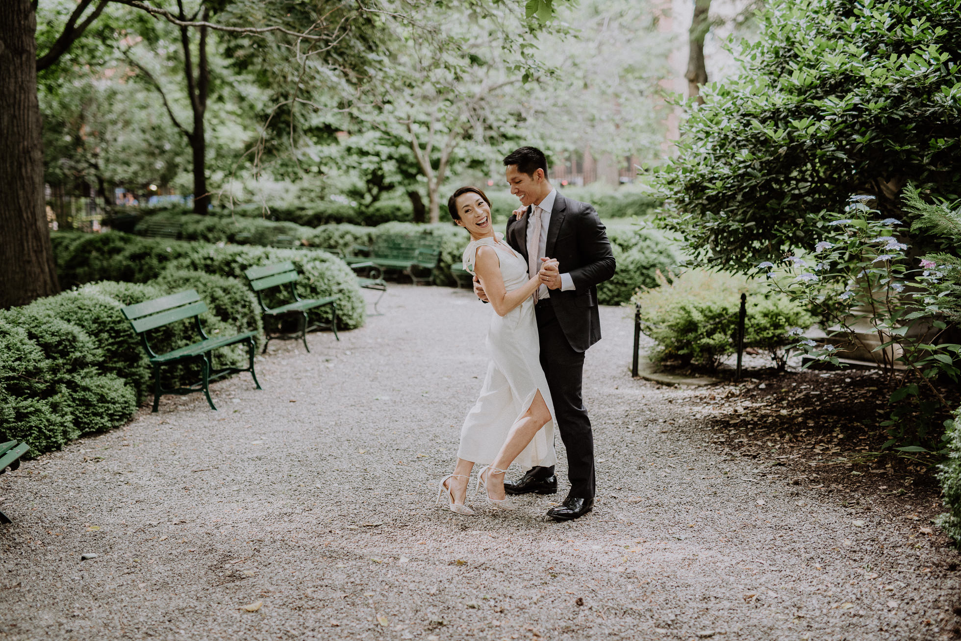 NYC park wedding