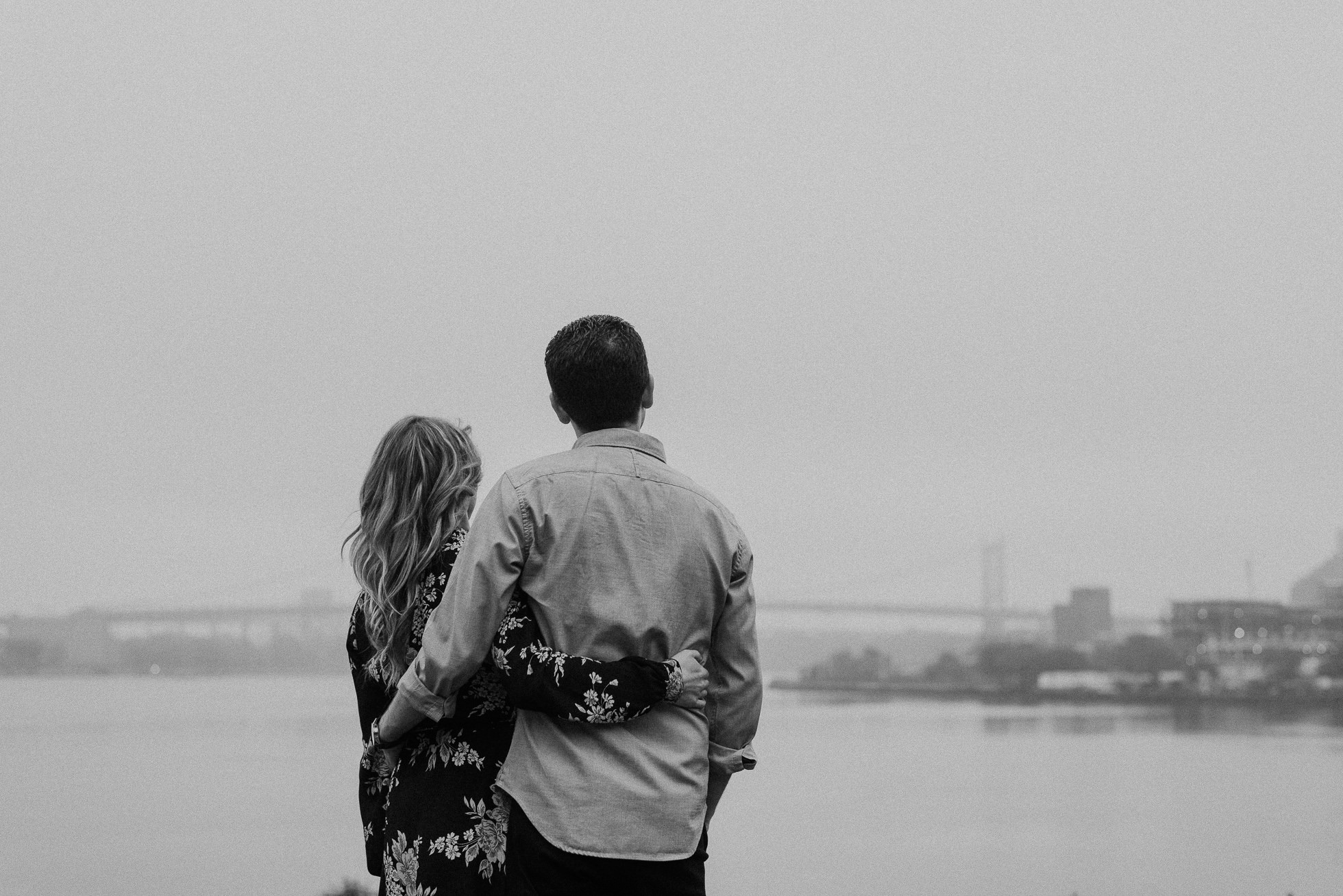 nyc skyline engagement photographed by Traverse the Tides19