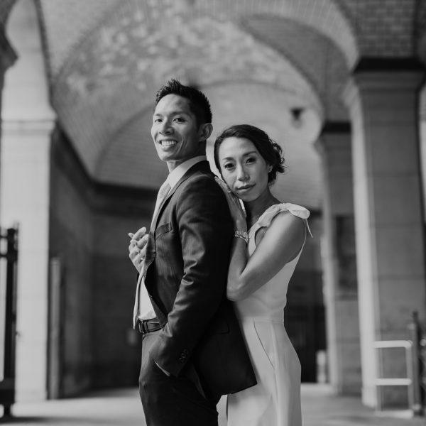 New York City wedding- Jean & Patrick Pt 1