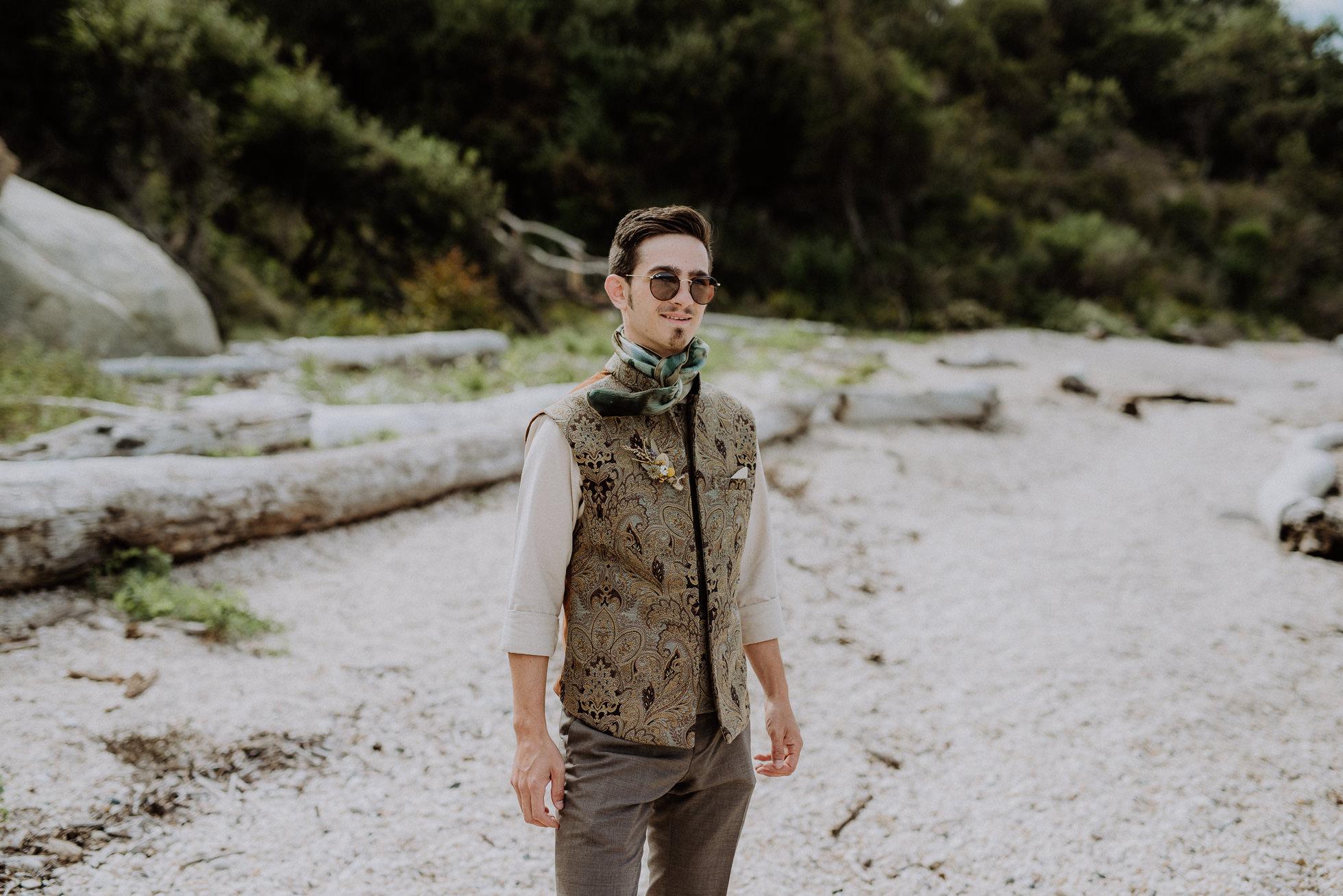 paisley grooms vest