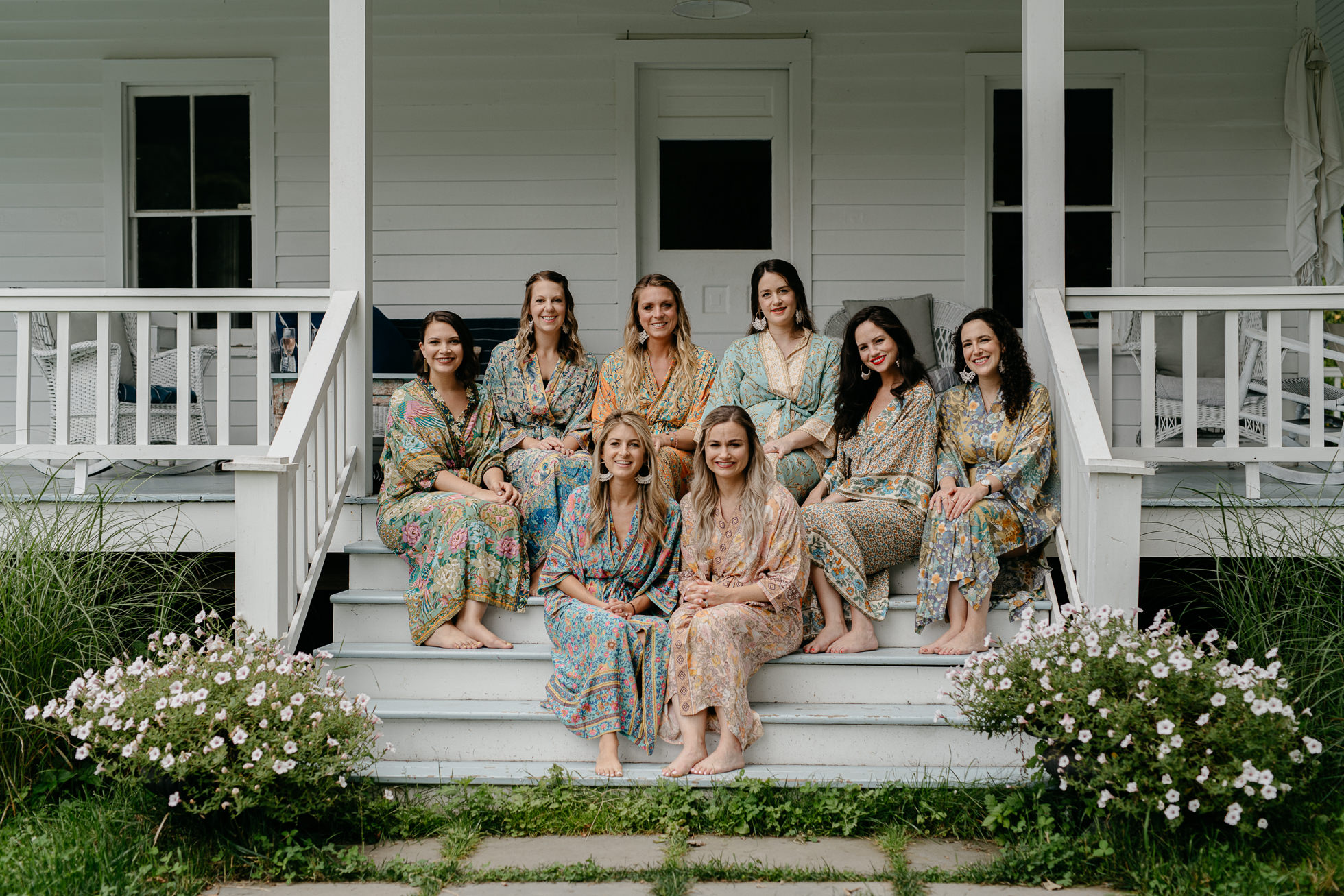rustic bridesmaid robes