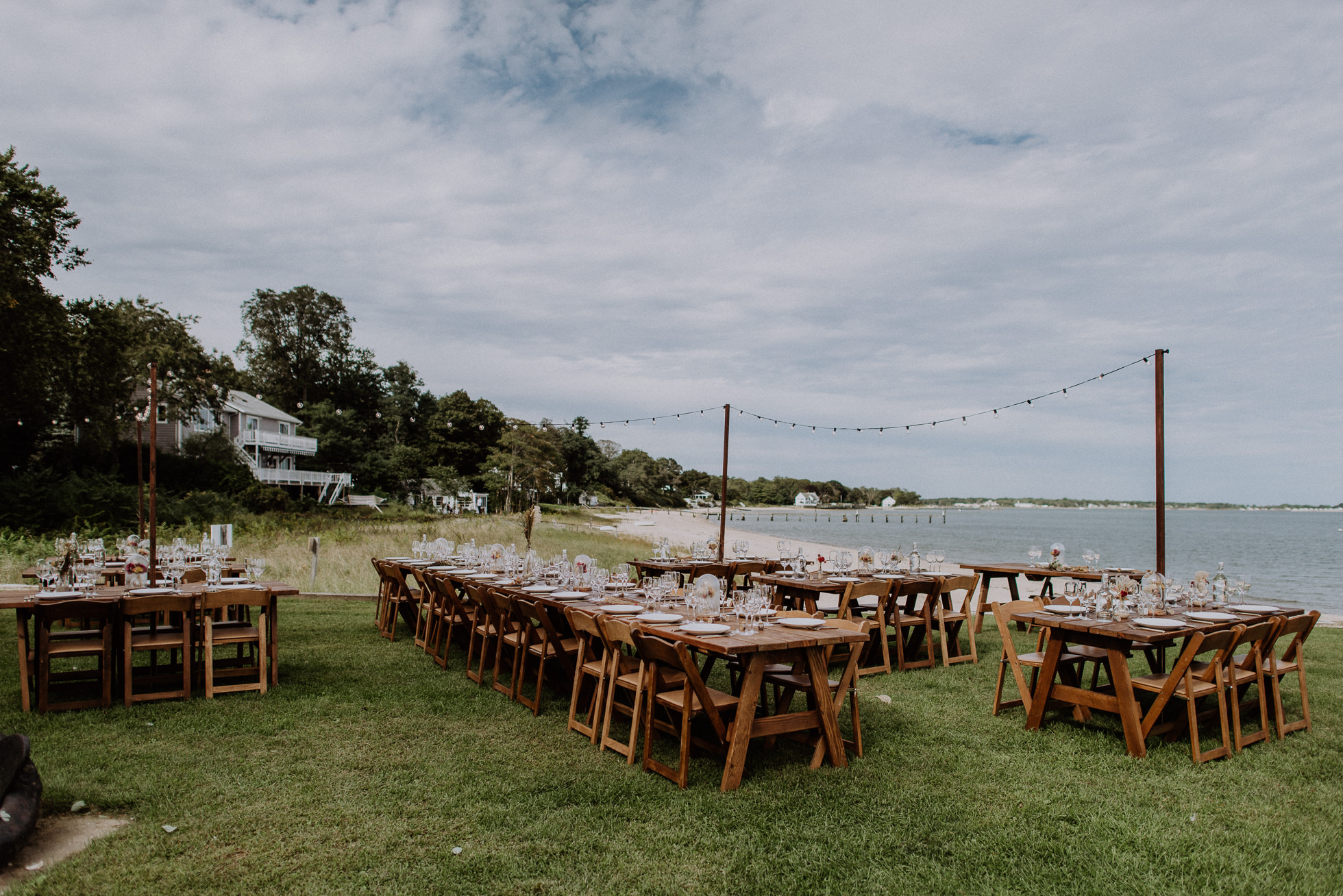rustic outdoor ceremony long island