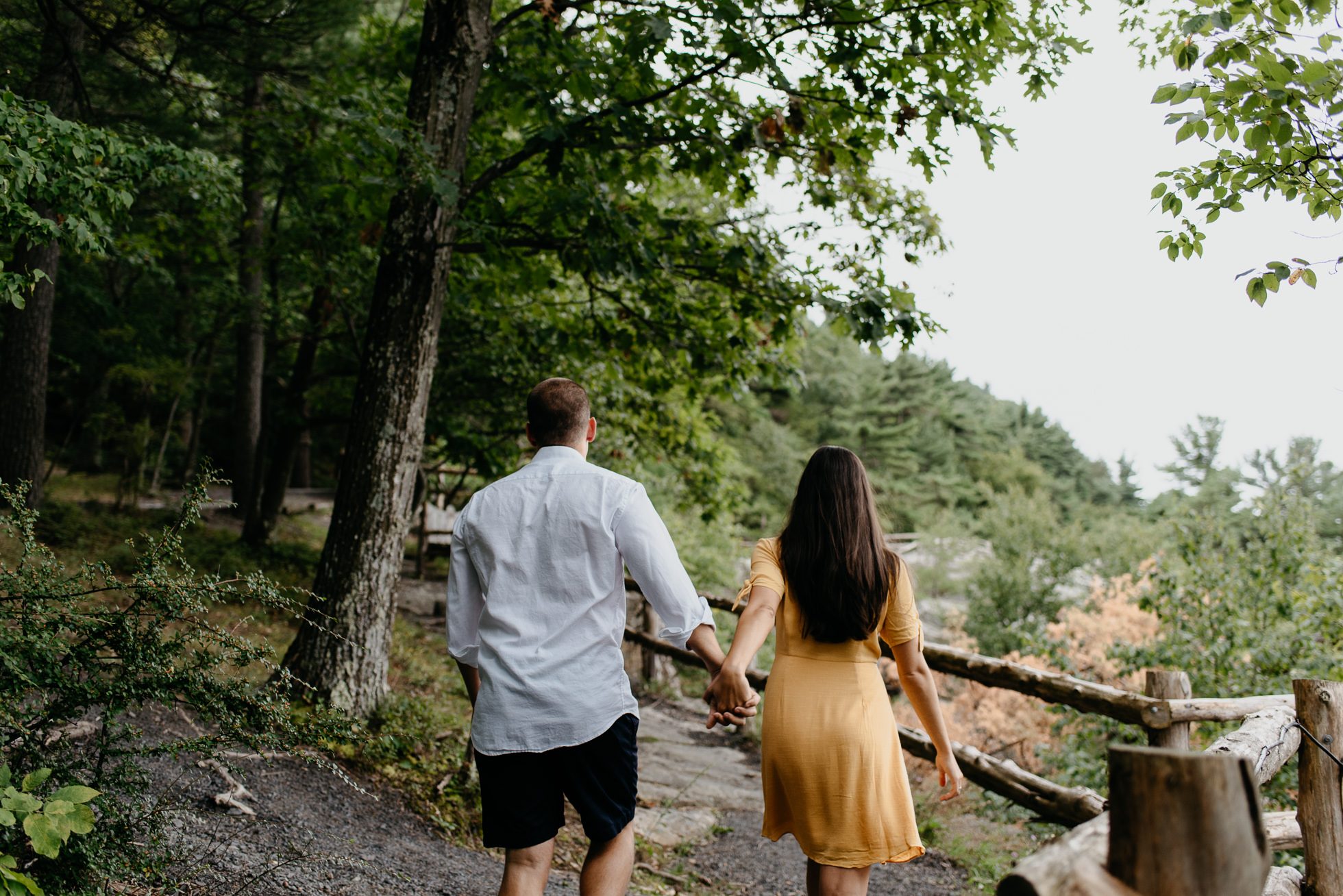 upstate NY engagement session