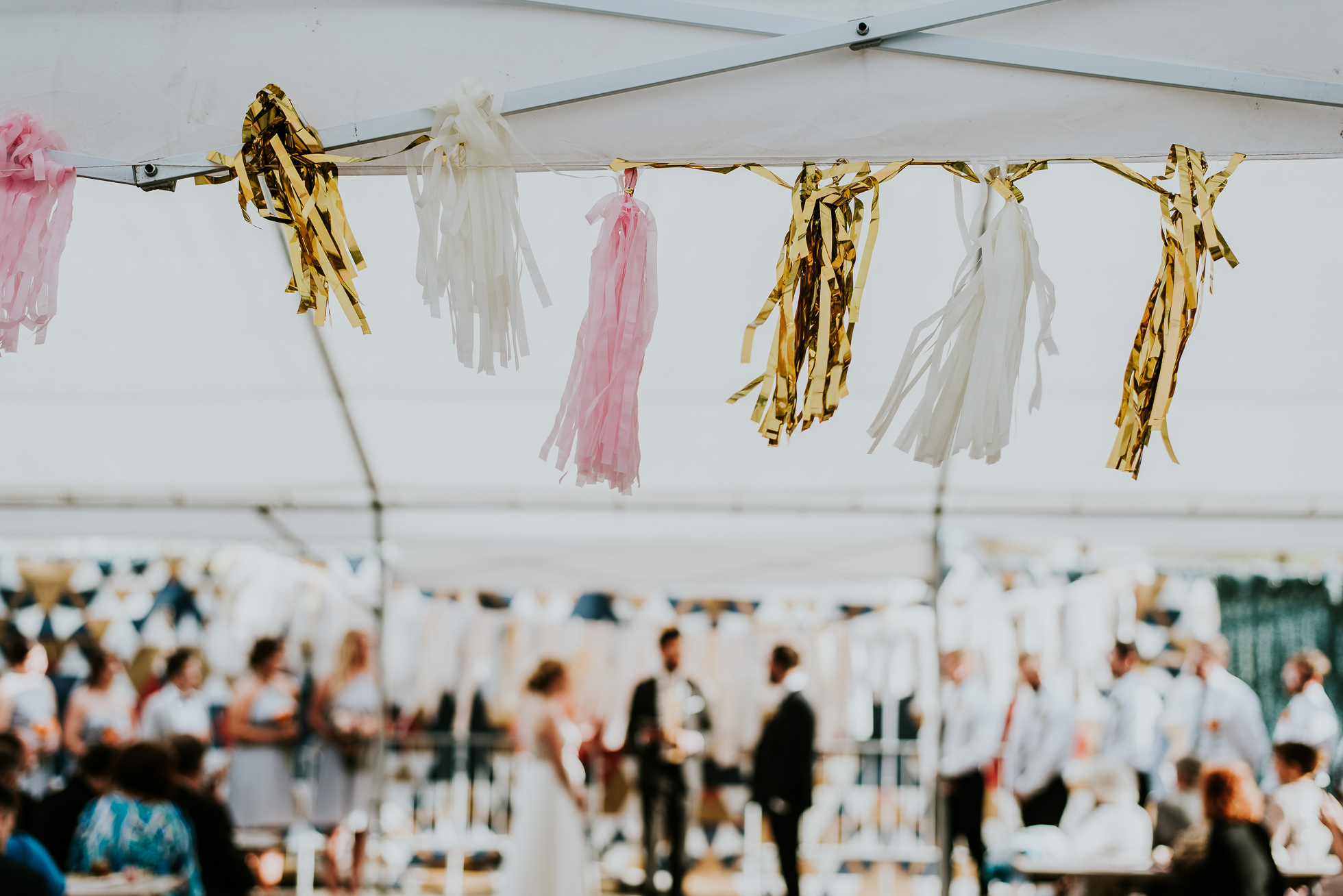 wedding tassels photographed by Traverse The Tides