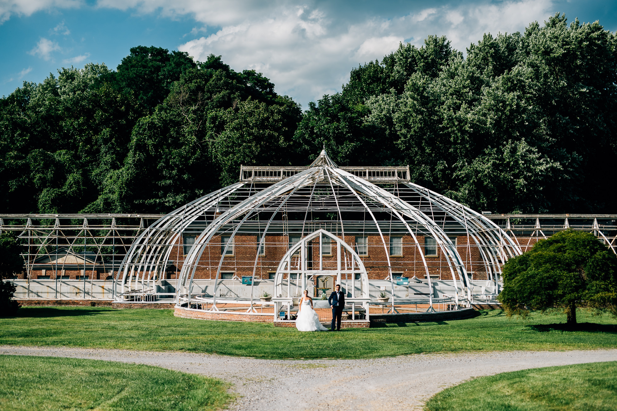 bride and groom portraits in greenhouse at lyndhurst castle photographed by traverse the tides-3