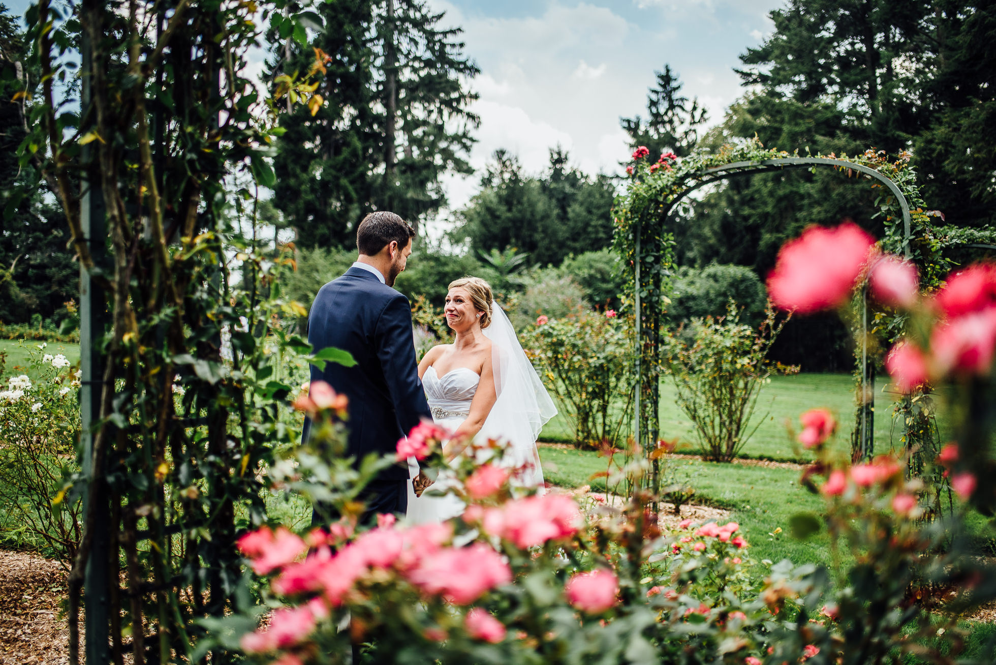 first look at lyndhurst castle rose garden photographed by traverse the tides