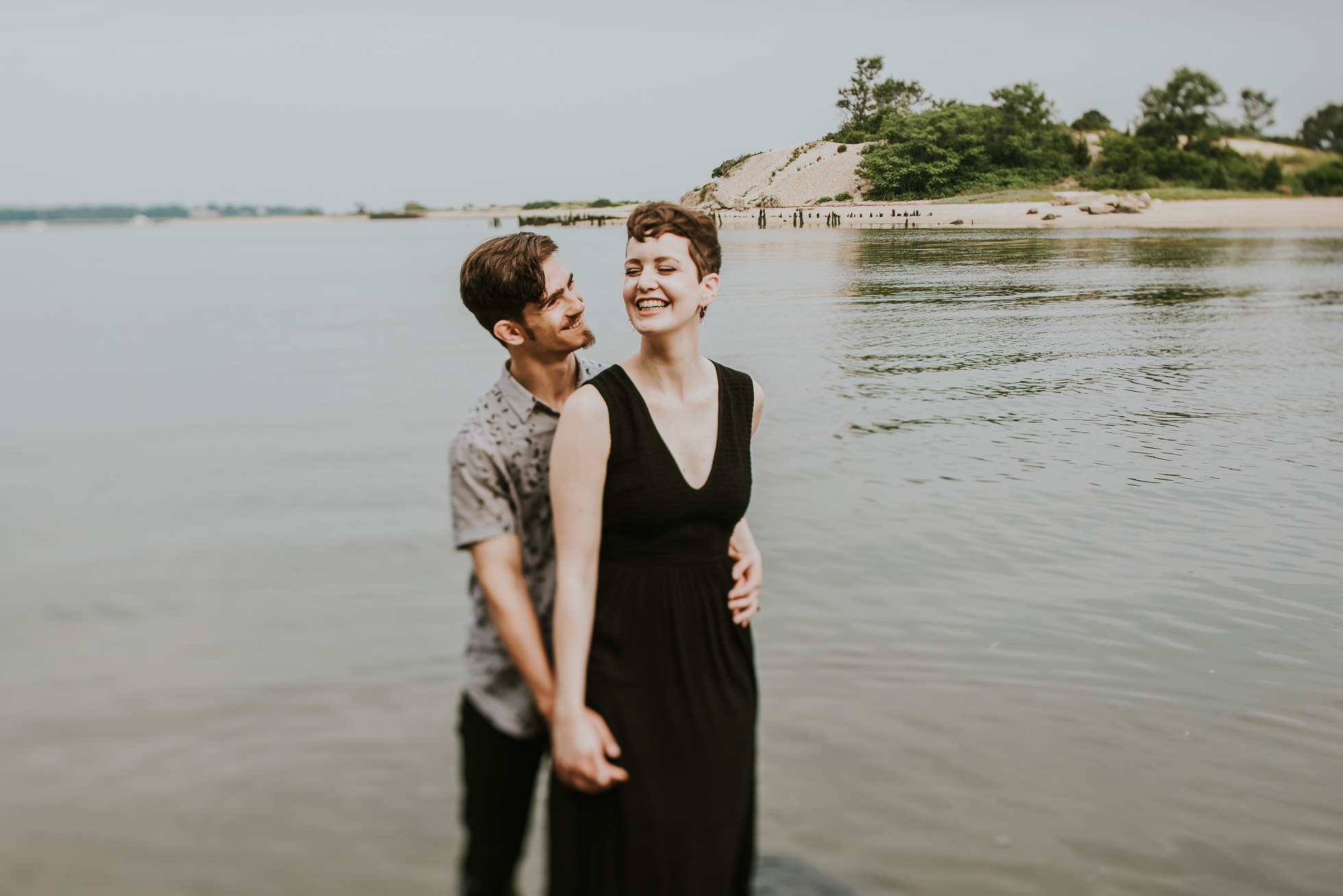 engagement session mcallister county park photographed by traverse the tides