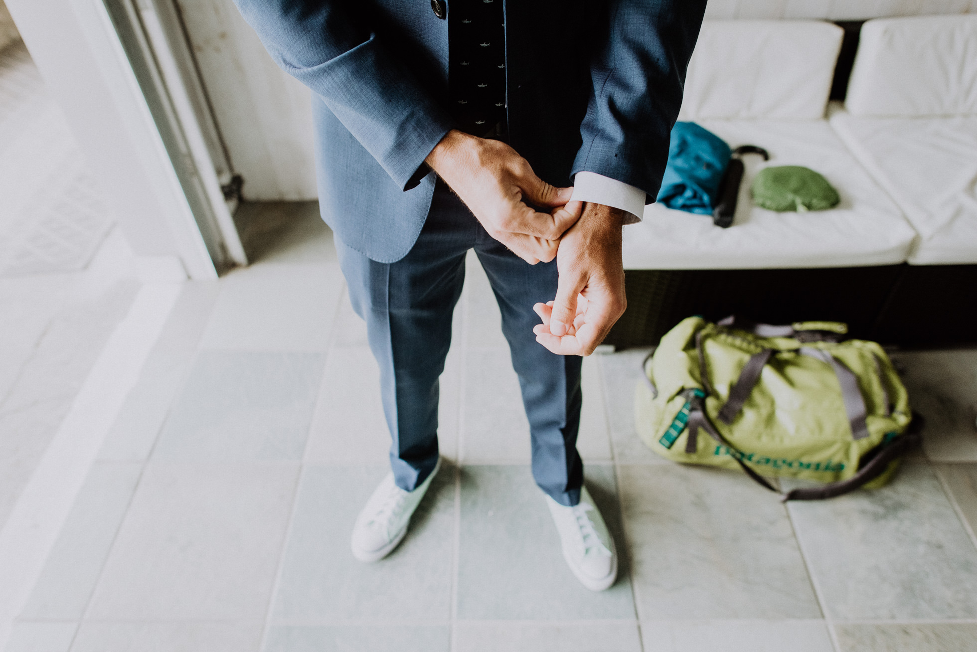 groom suit Montauk photographed by Traverse the Tides