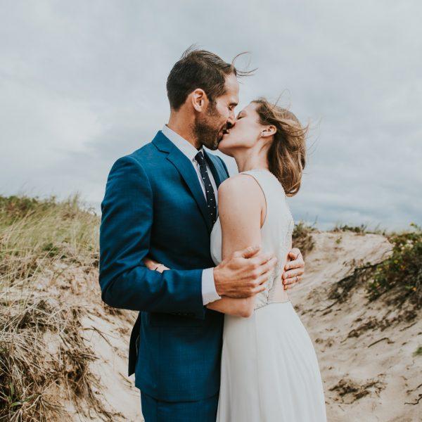 The Surf Lodge Montauk wedding - Annie & Reece
