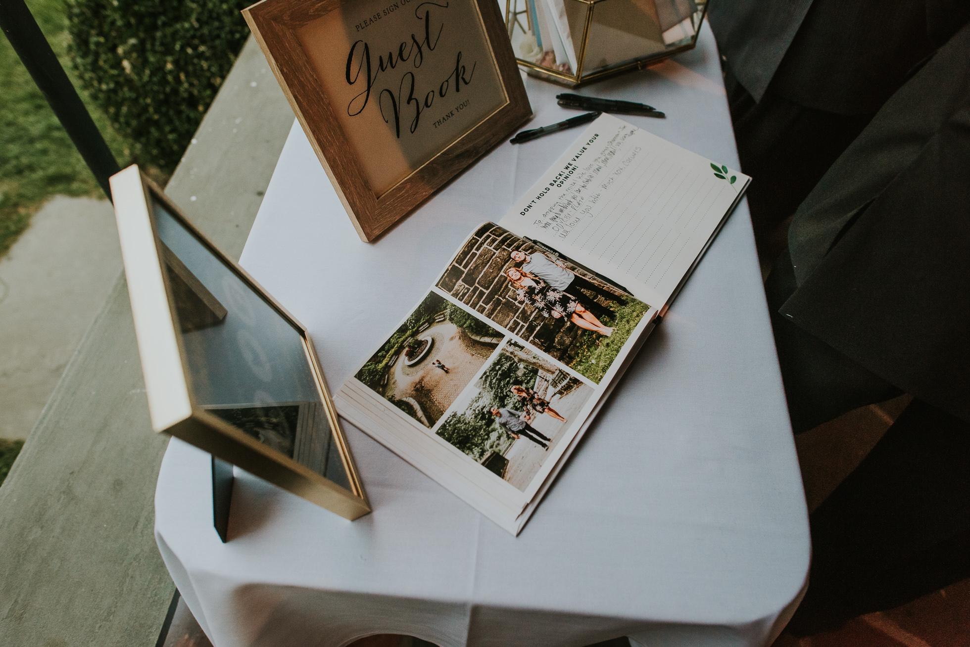 guest books long island weddings
