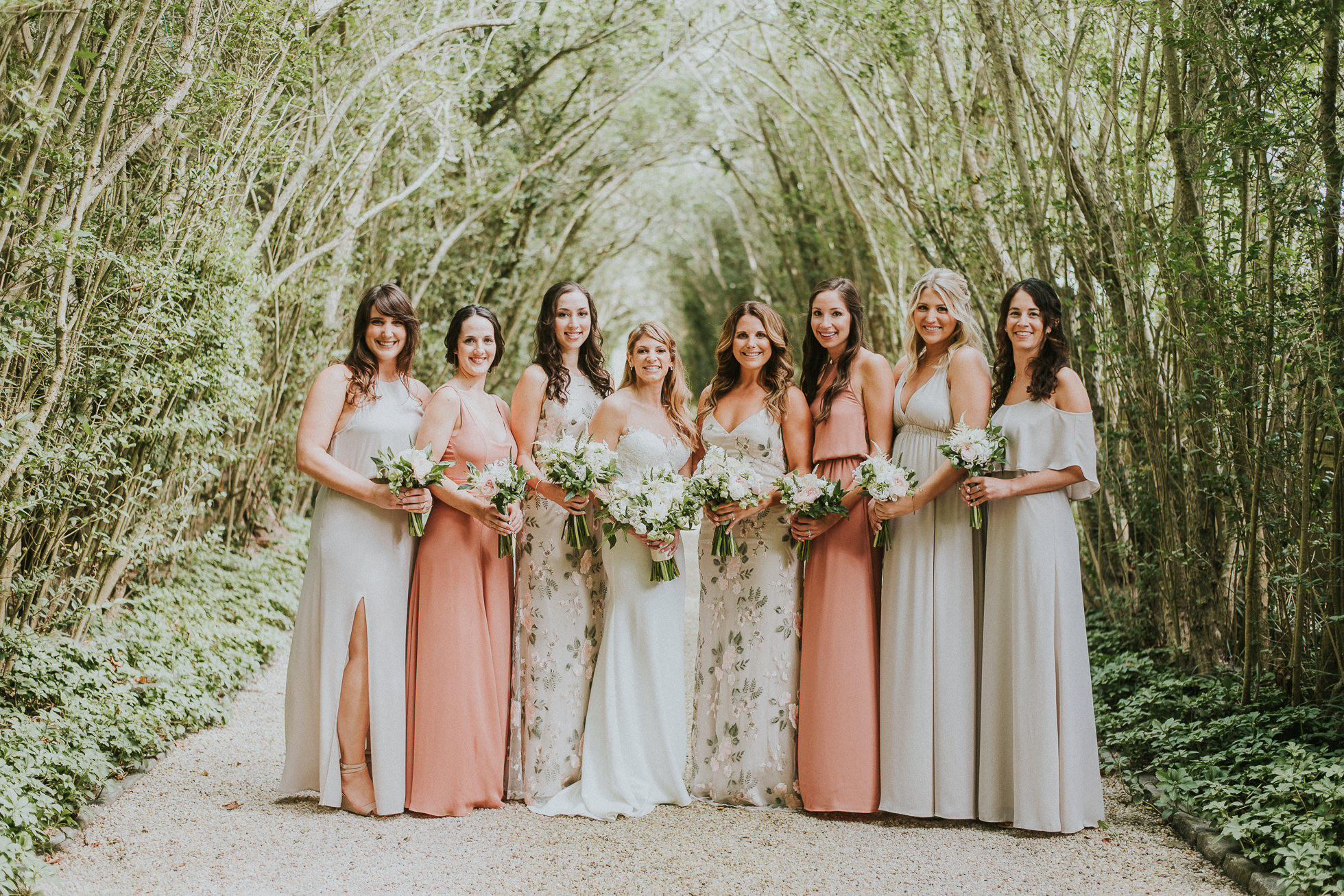 bridal party dress ideas Long Island wedding