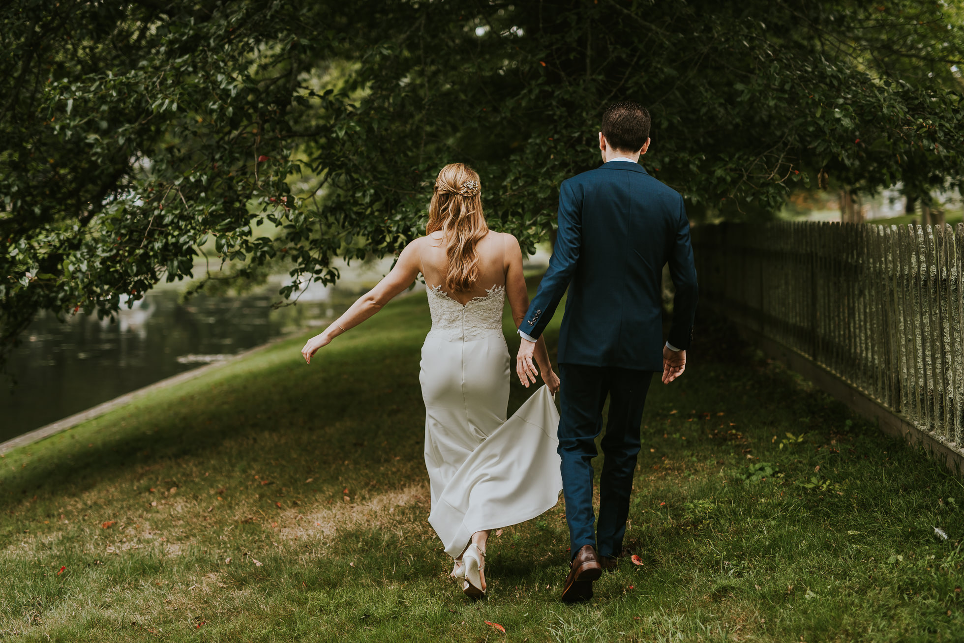 stylish bride and groom long island wedding