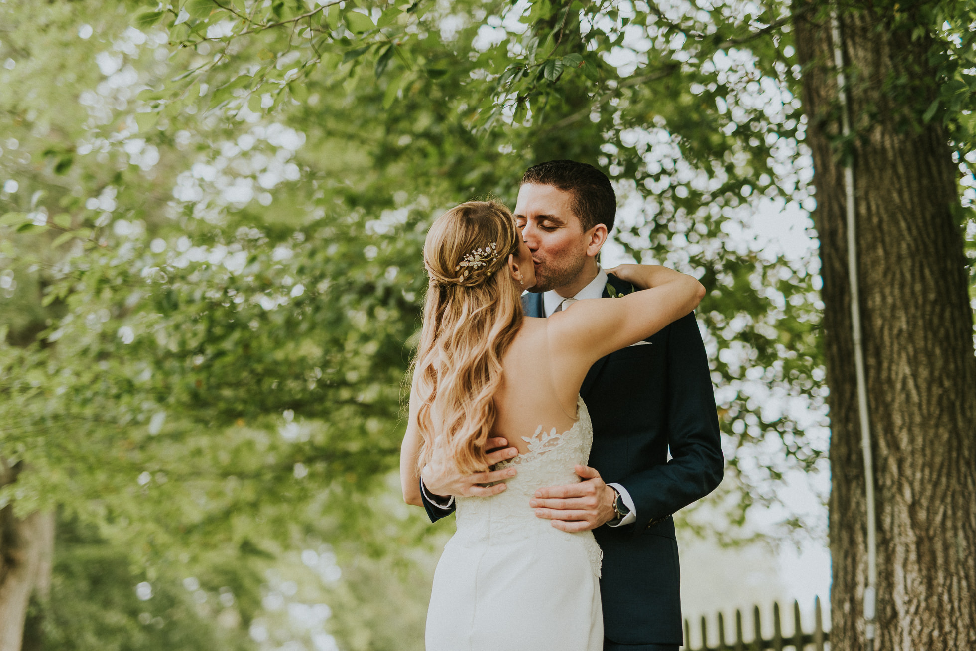 stylish bride and groom portraits the hamptons wedding