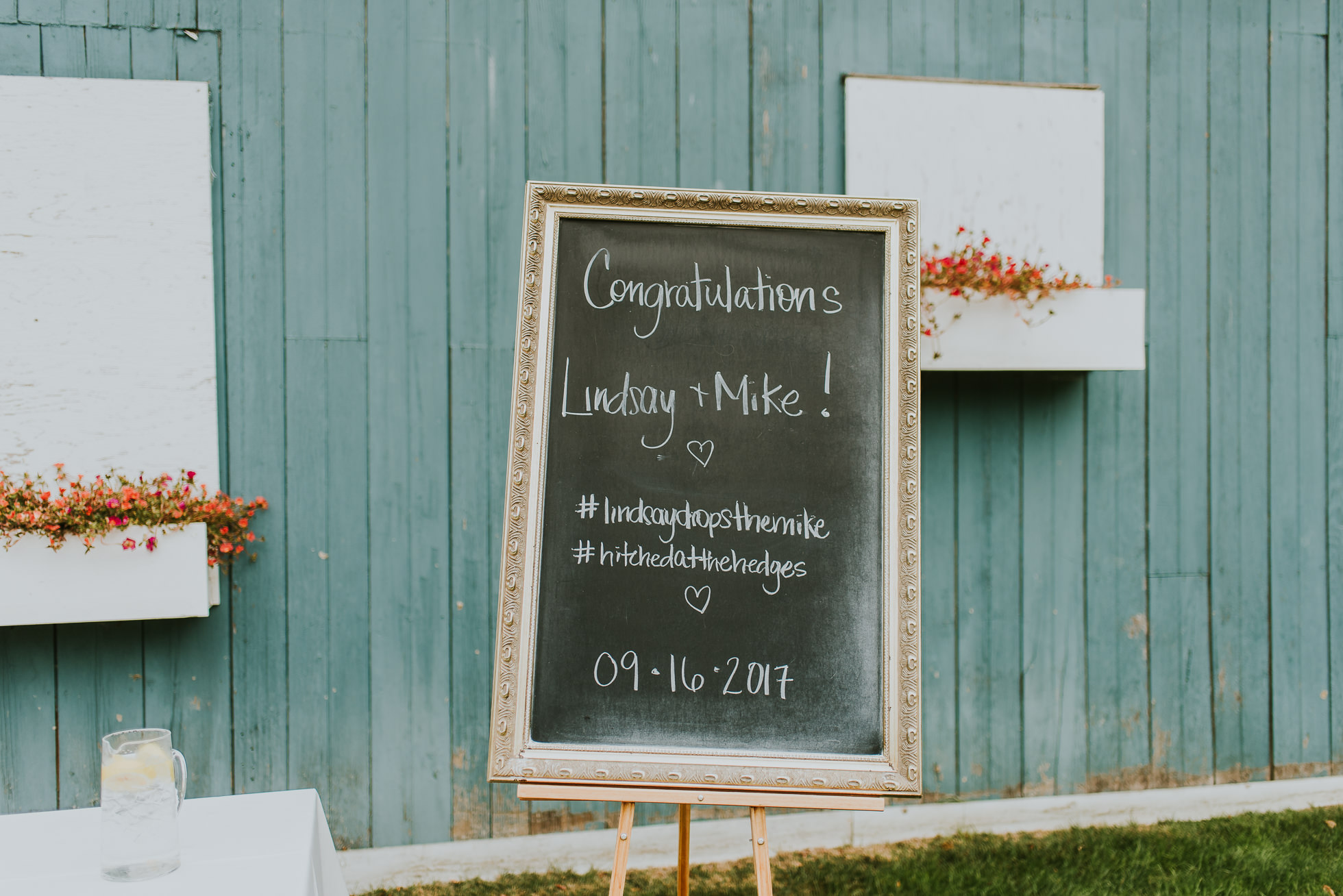 wedding chalkboards long island
