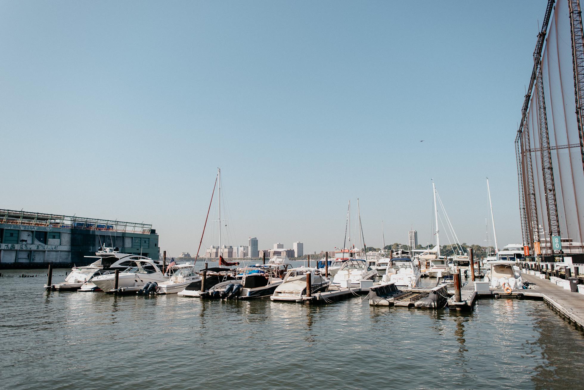 Chelsea Piers boat slips