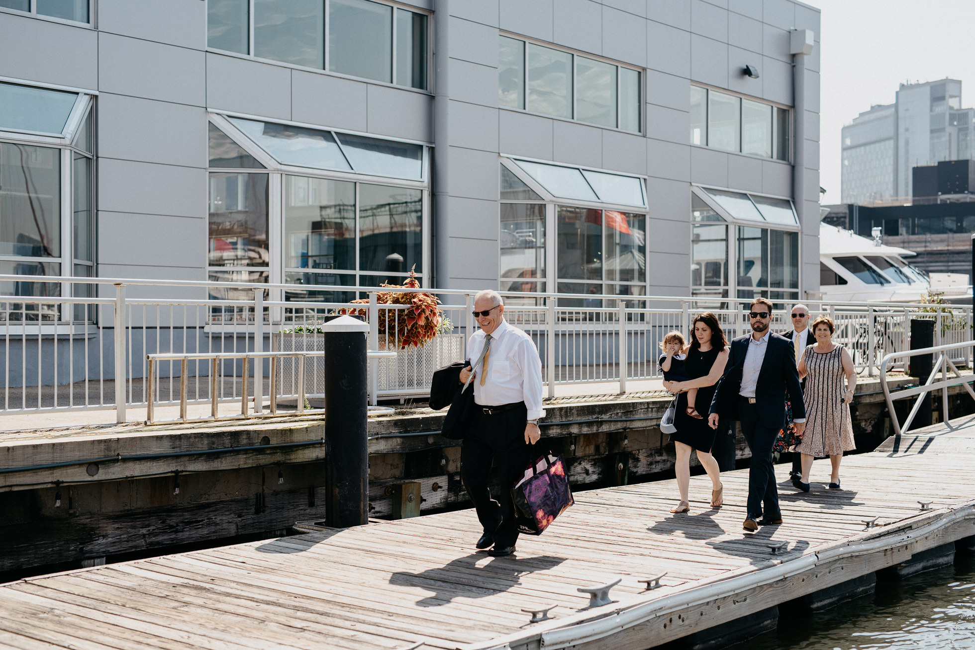 Chelsea Piers wedding ceremony
