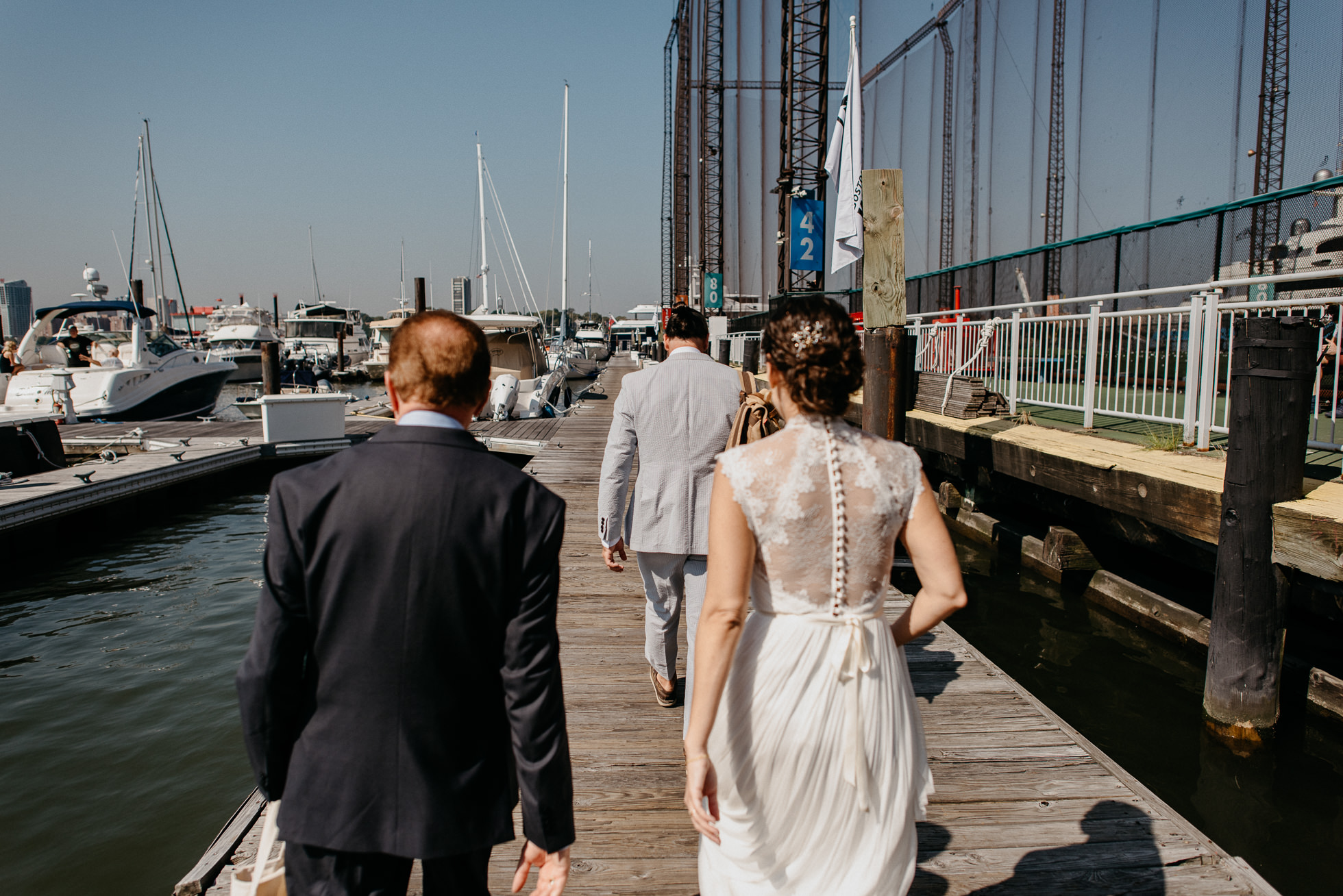 Chelsea Piers wedding photographers
