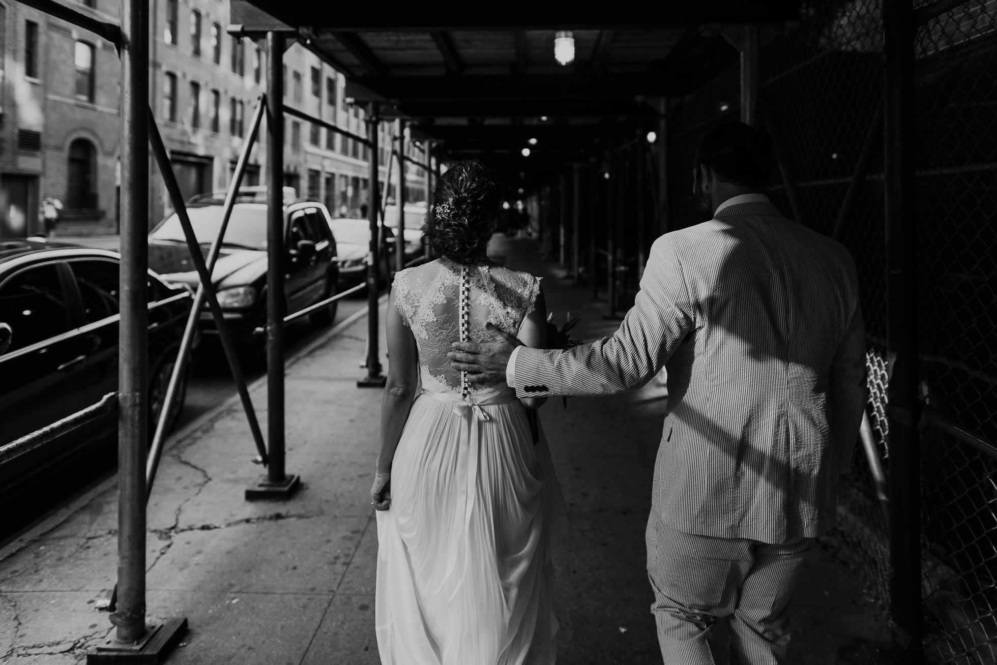 creative wedding photos Manhattan