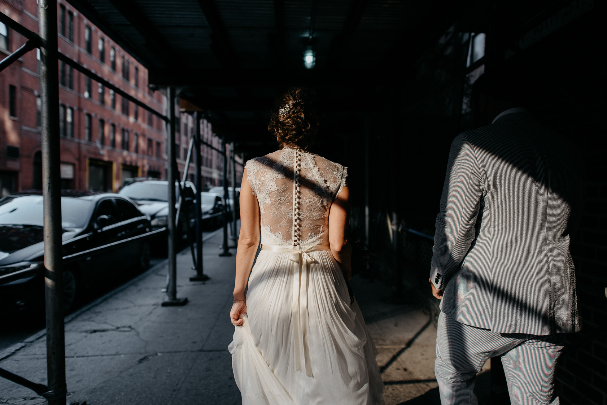 creative wedding photos New York City