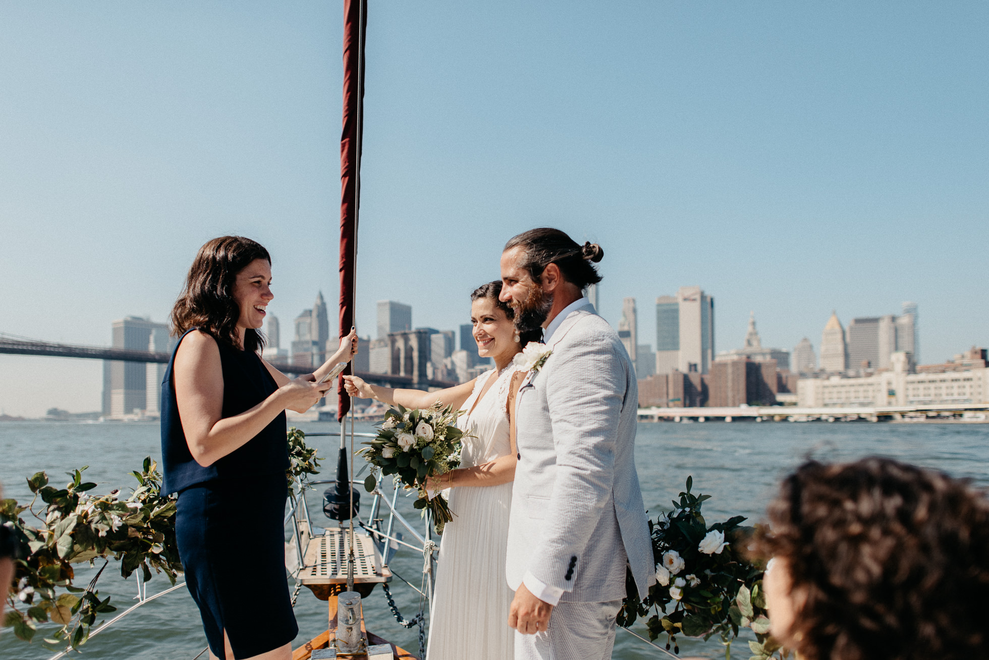 manhattan yacht wedding