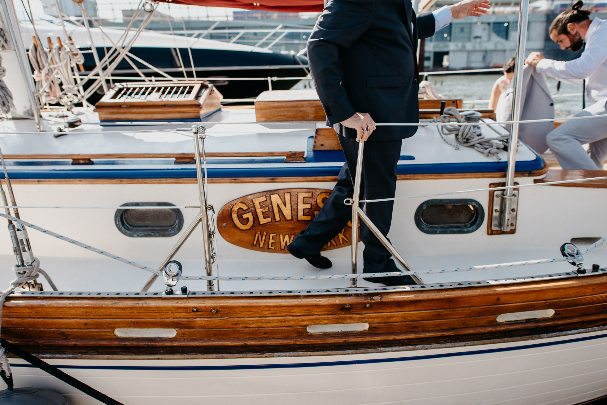 Narwhal Yacht Charters wedding