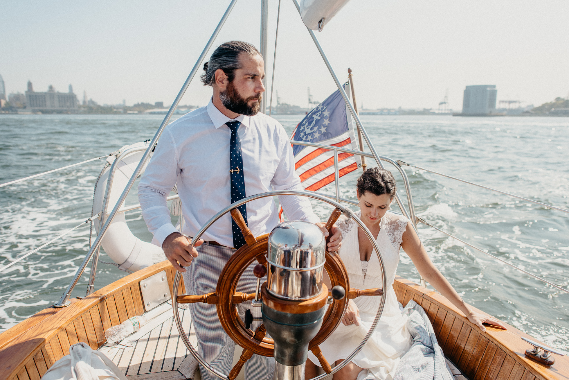 nautical yacht wedding