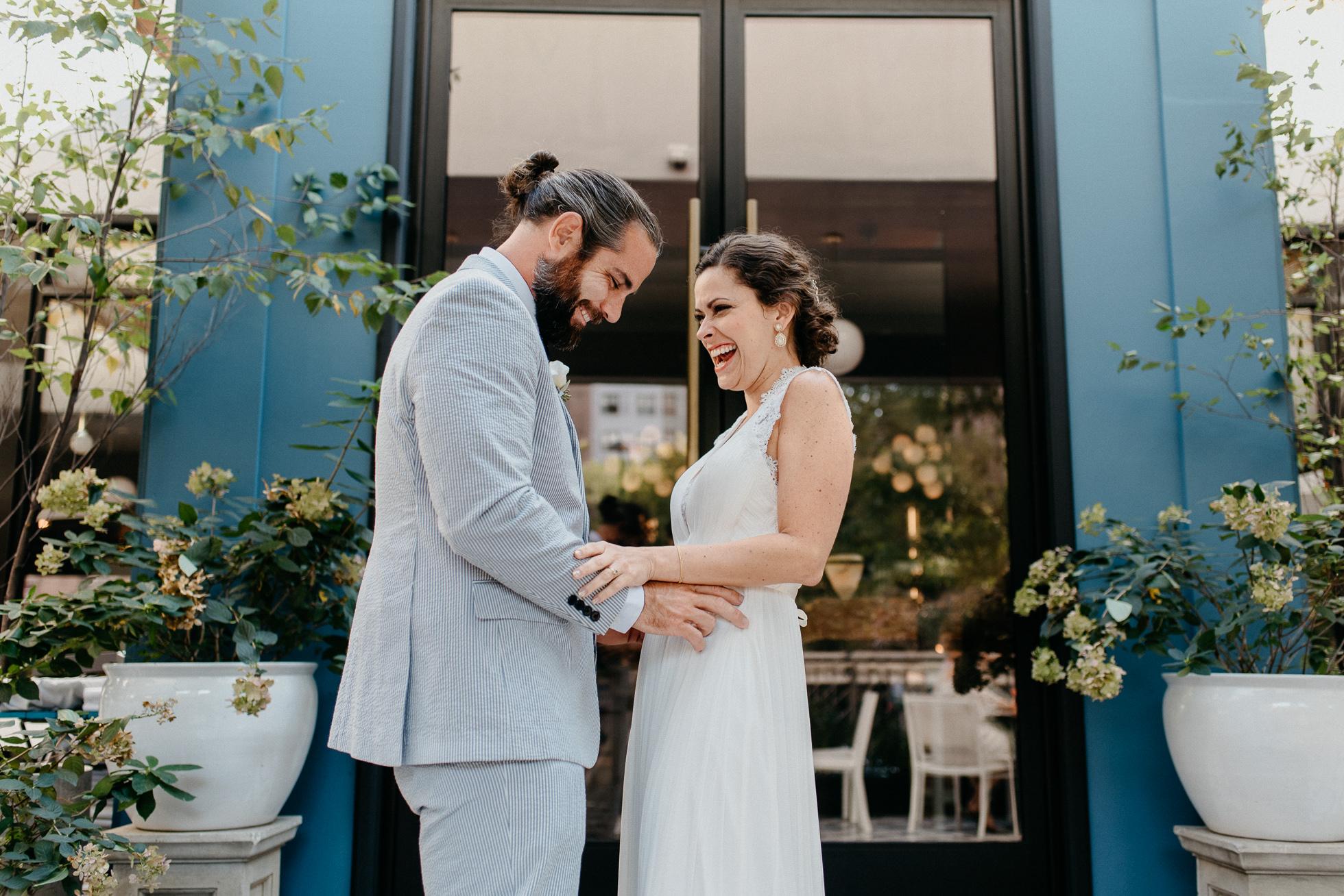 New York City creative wedding photographer