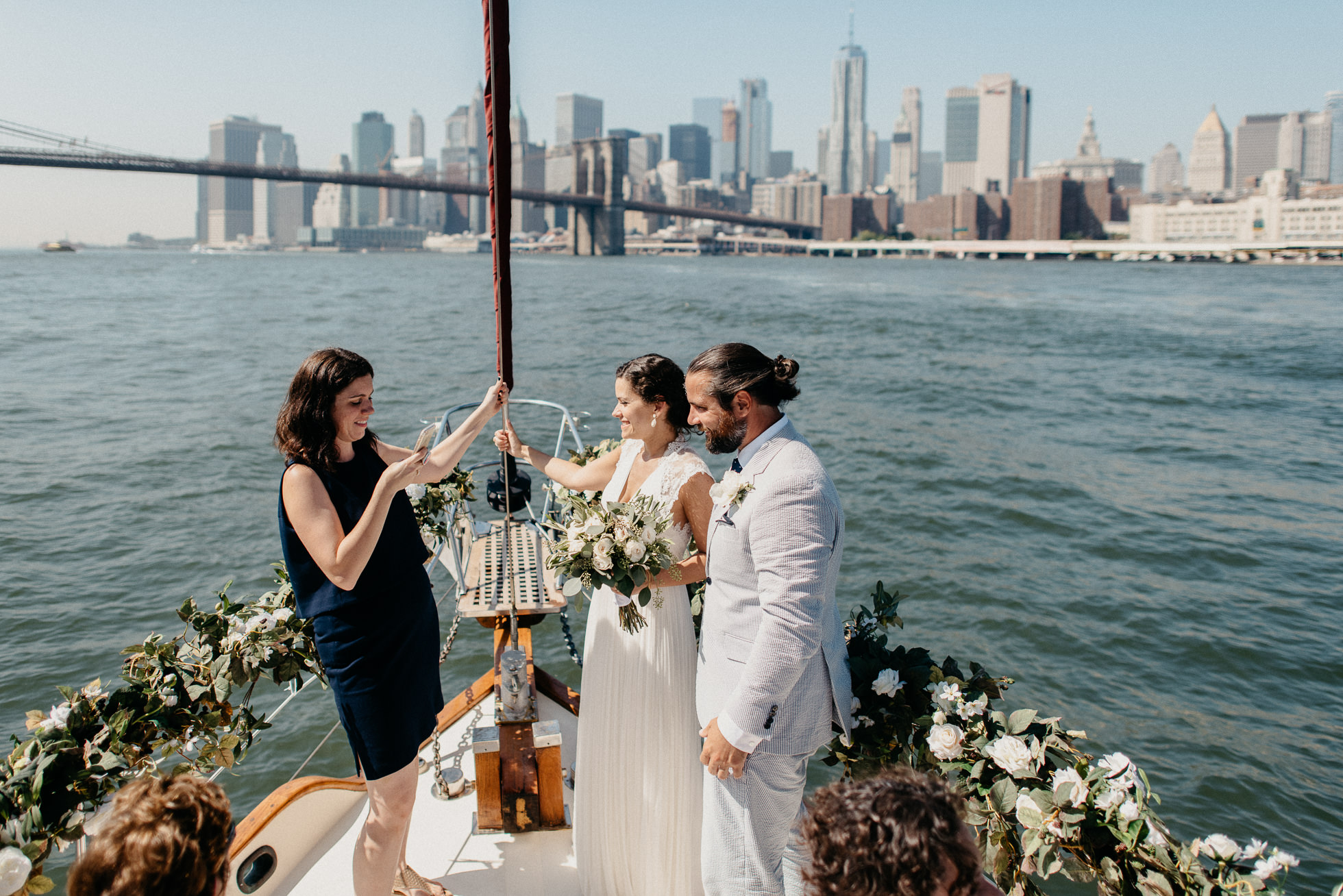 nyc boat ceremony