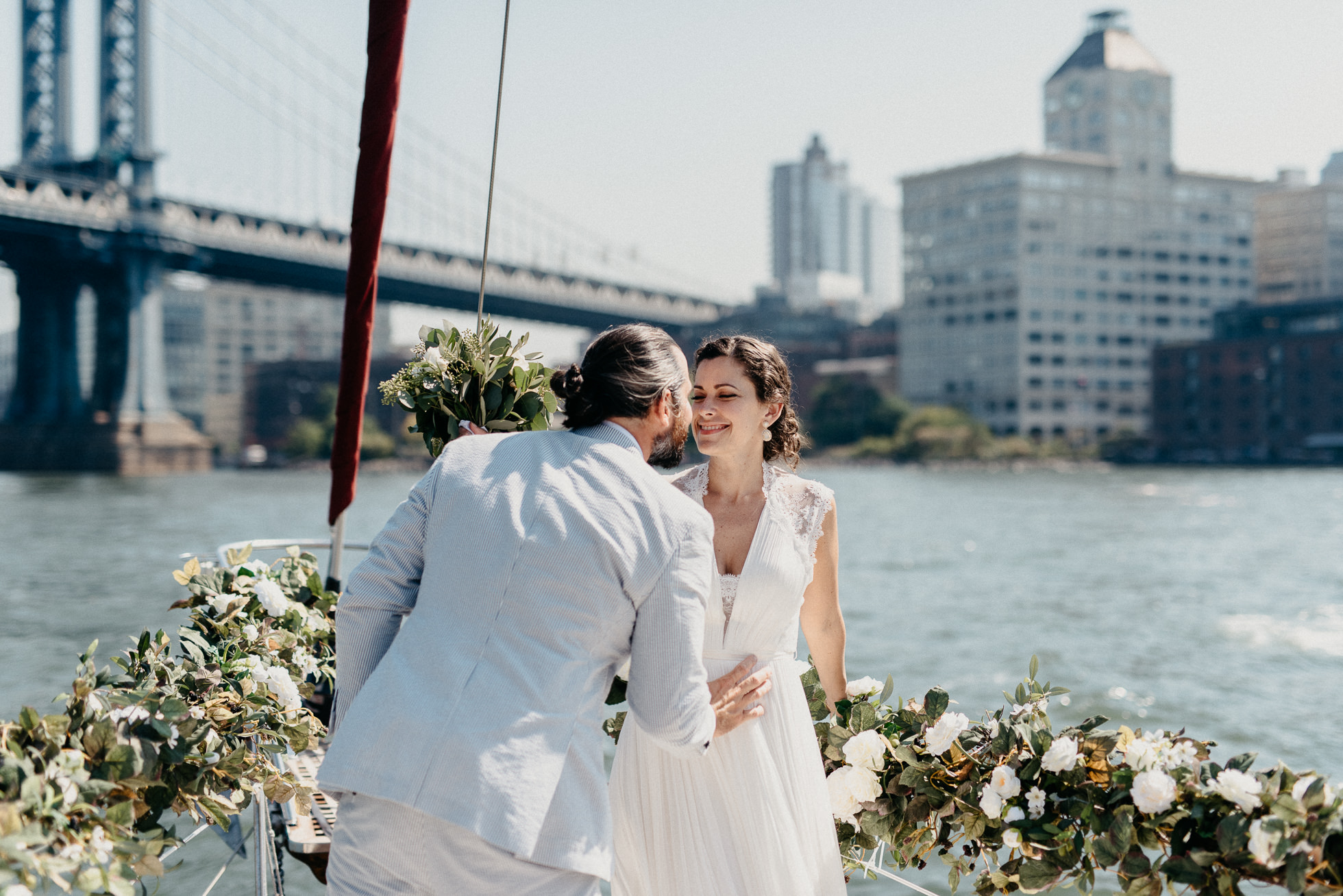 nyc boat weddings