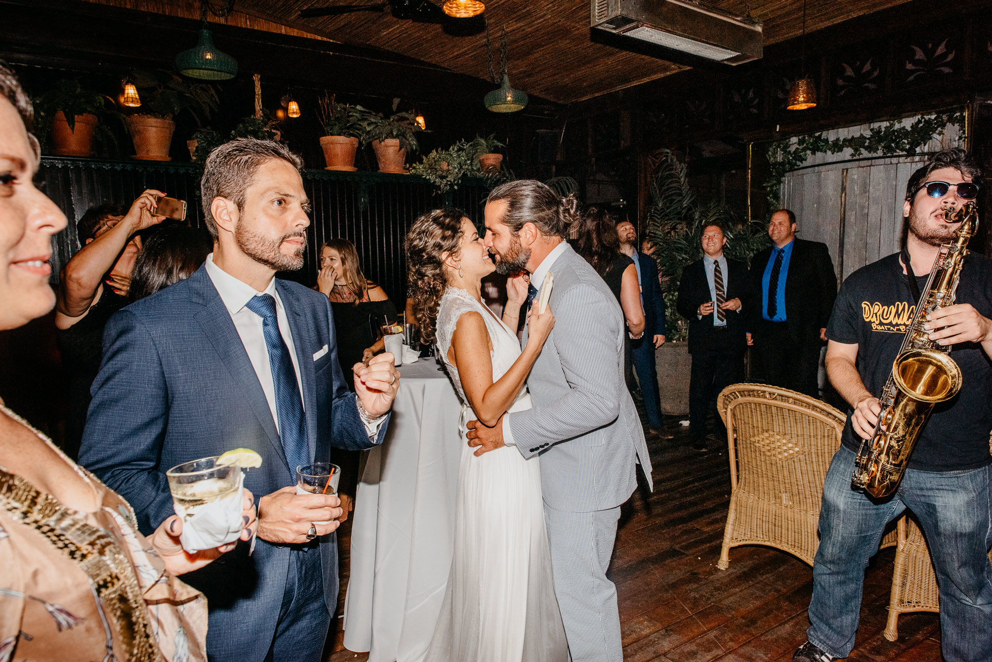 NYC restaurant wedding