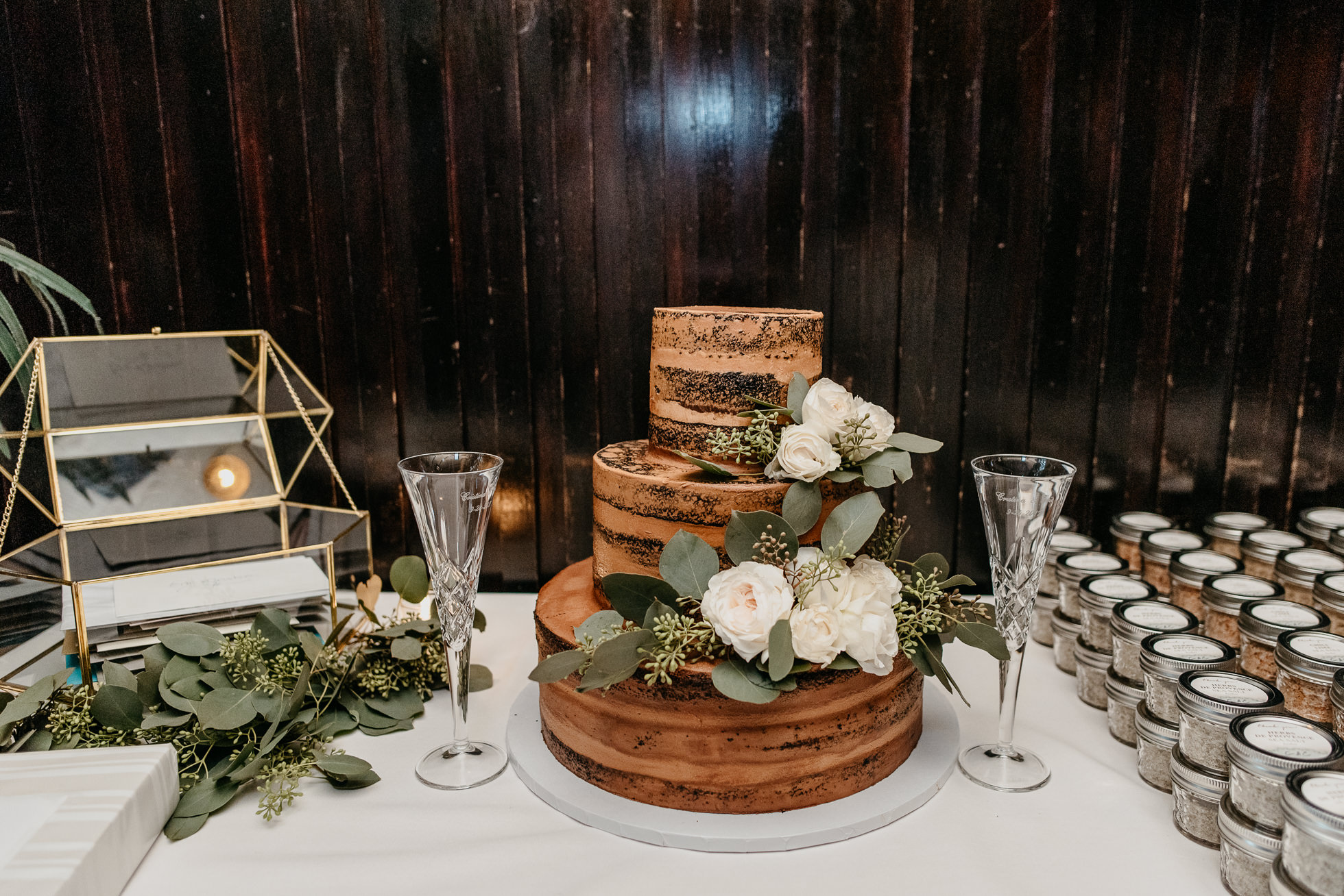 NYC rustic wedding cakes