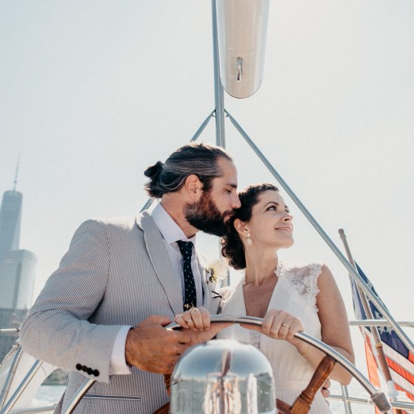 NYC Yacht Wedding- Christina & Eric